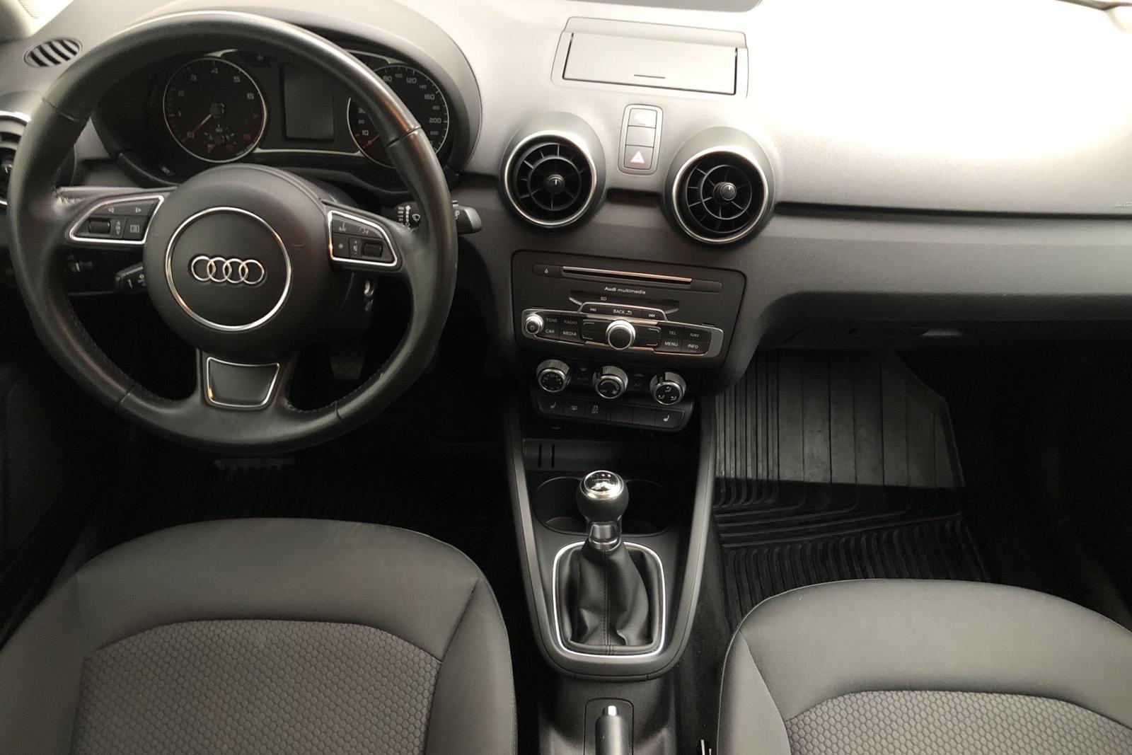 Audi A1 1.4 TFSI Sportback (125hk) - 26 270 km - Manual - white - 2018