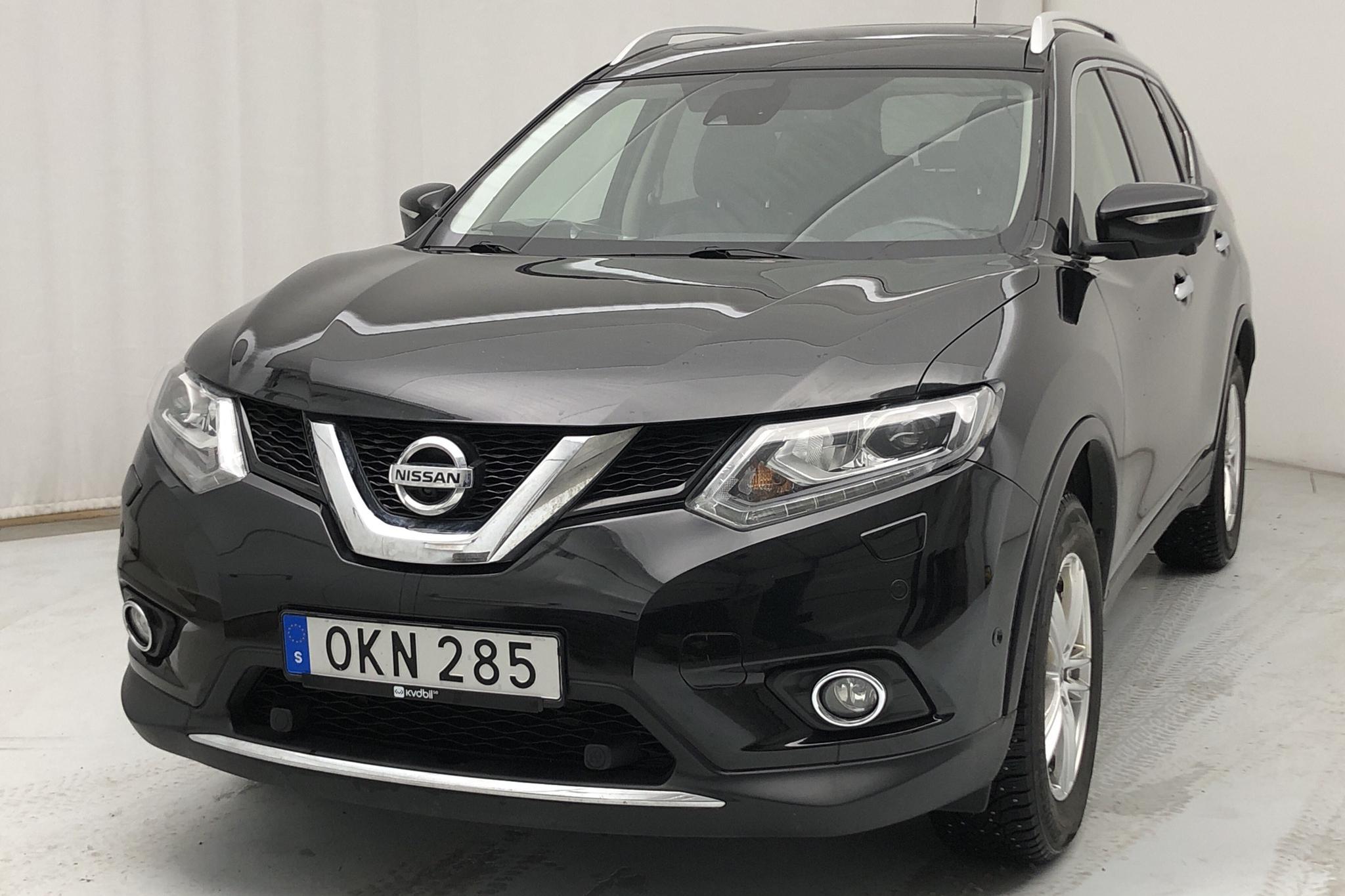 Nissan X-trail 1.6 dCi 4WD (130hk) - 14 581 mil - Manuell - svart - 2016