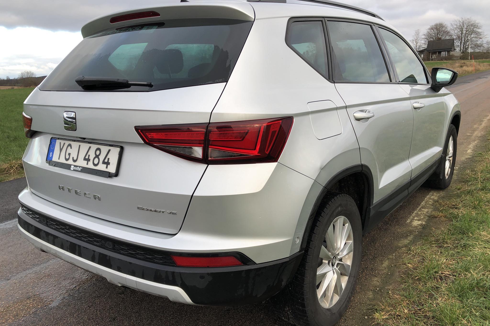 Seat Ateca 1.6 TDI (115hk) - 13 155 mil - Manuell - silver - 2017