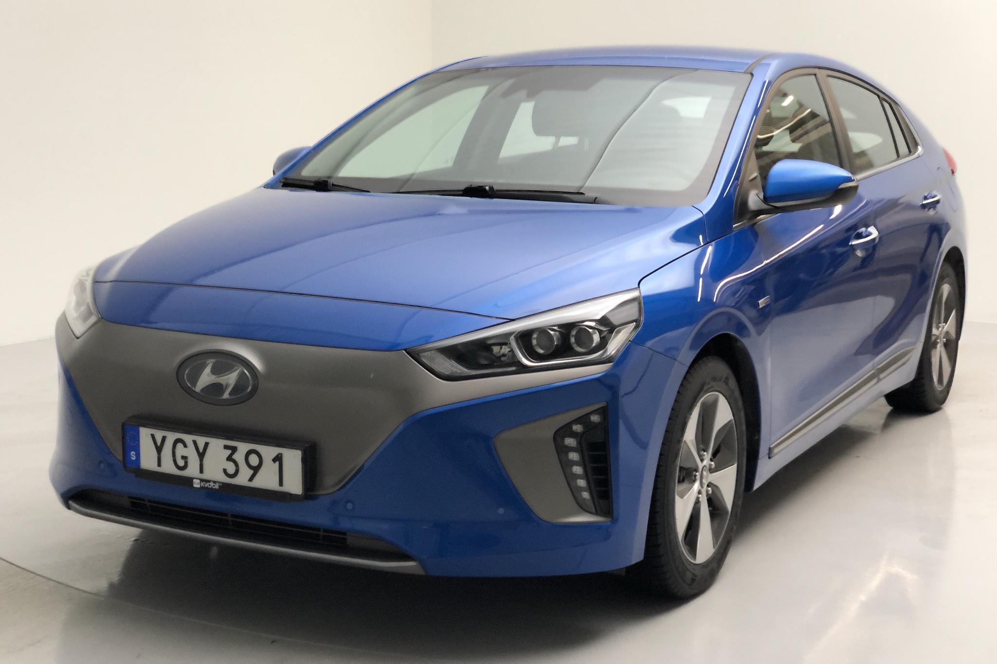 Hyundai IONIQ Electric (120hk) - 60 670 km - Automatic - Dark Blue - 2017