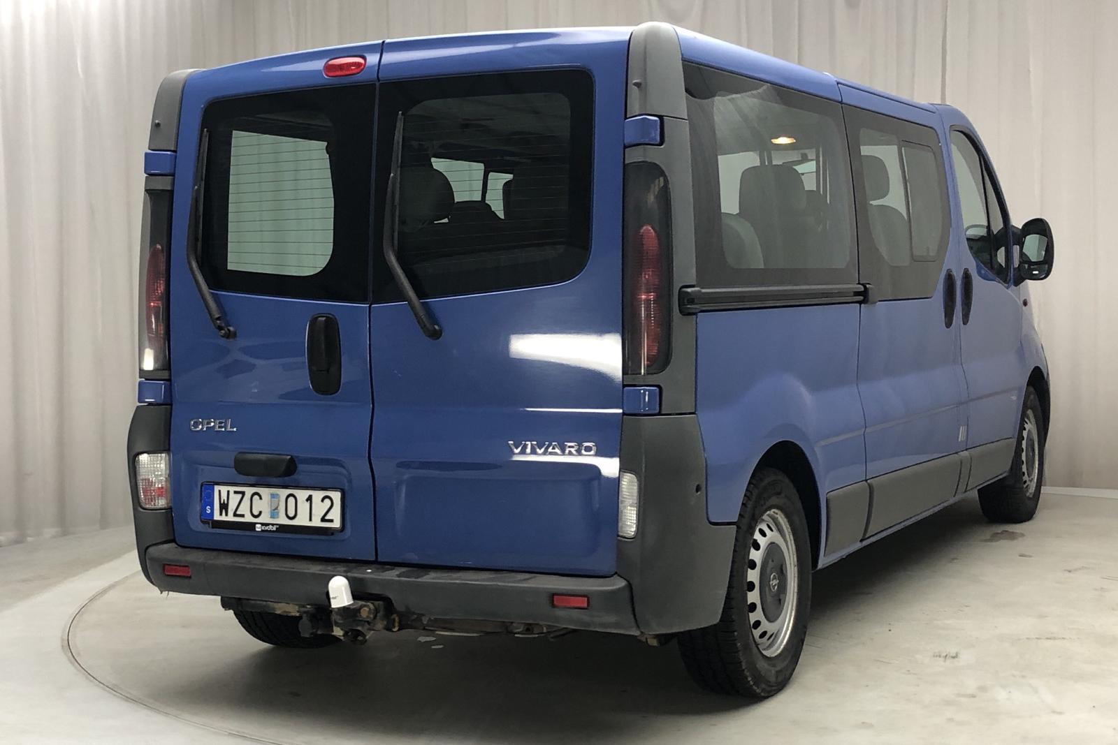 Opel Vivaro 2.0 16V (120hk) - 142 320 km - Manual - blue - 2005