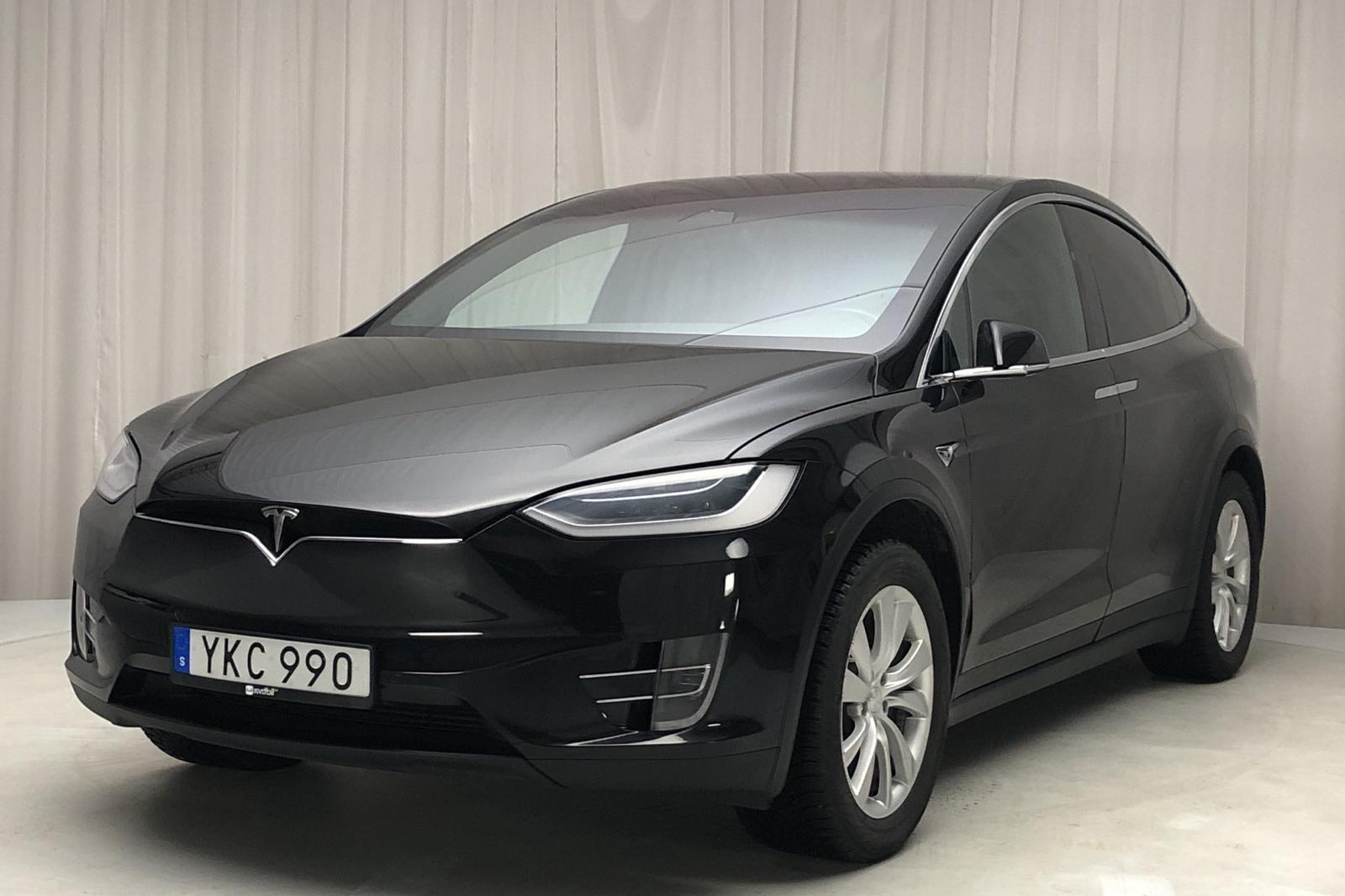 Tesla Model X 75D - 9 731 mil - Automat - svart - 2017