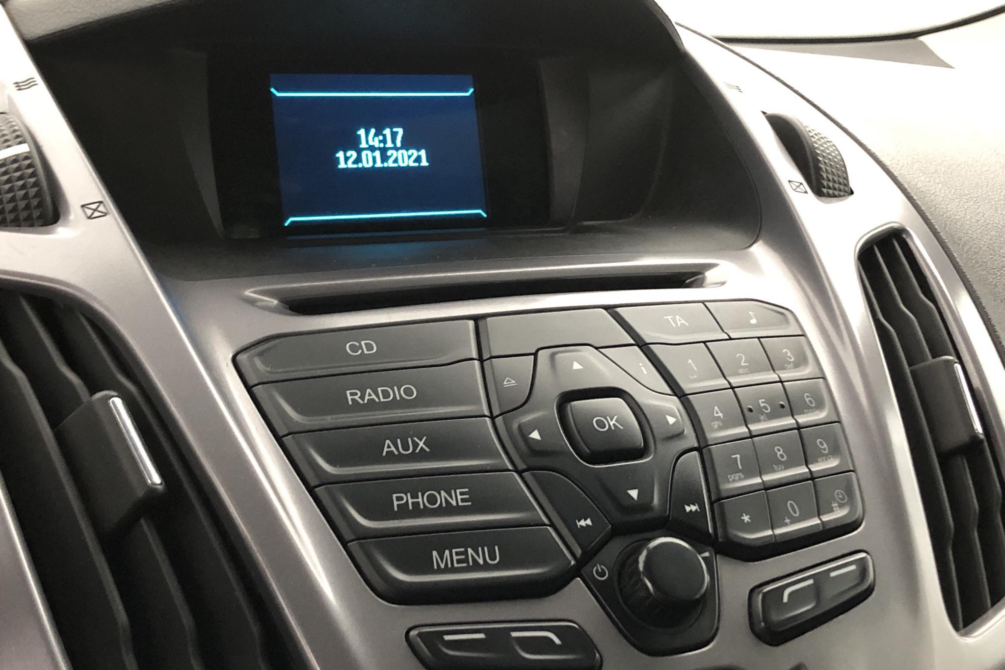Ford Transit Connect 1.6 TDCi (95hk) - 3 069 mil - Manuell - vit - 2015