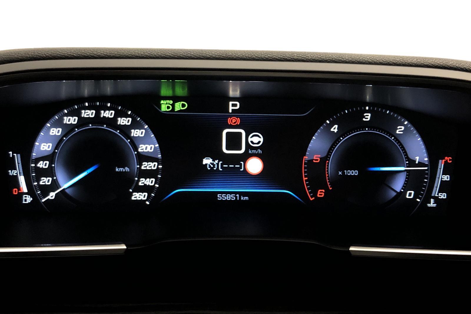 Peugeot 508 2.0 BlueHDi 5dr (180hk) - 55 840 km - Automatic - black - 2019