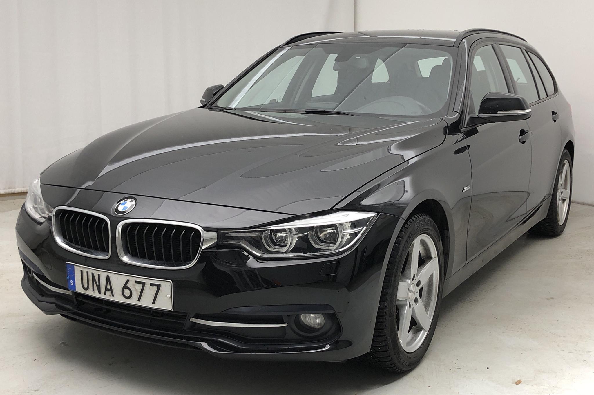 BMW 320d Touring, F31 (190hk) - 105 090 km - Manual - black - 2017