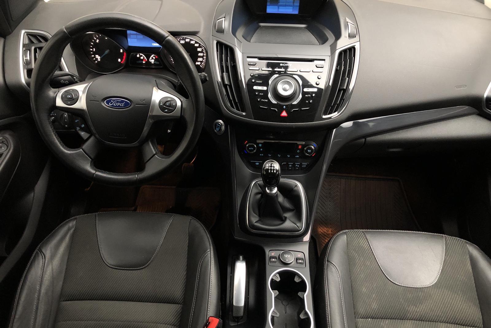 Ford Kuga 2.0 TDCi 4WD (140hk) - 136 050 km - Manual - gray - 2014