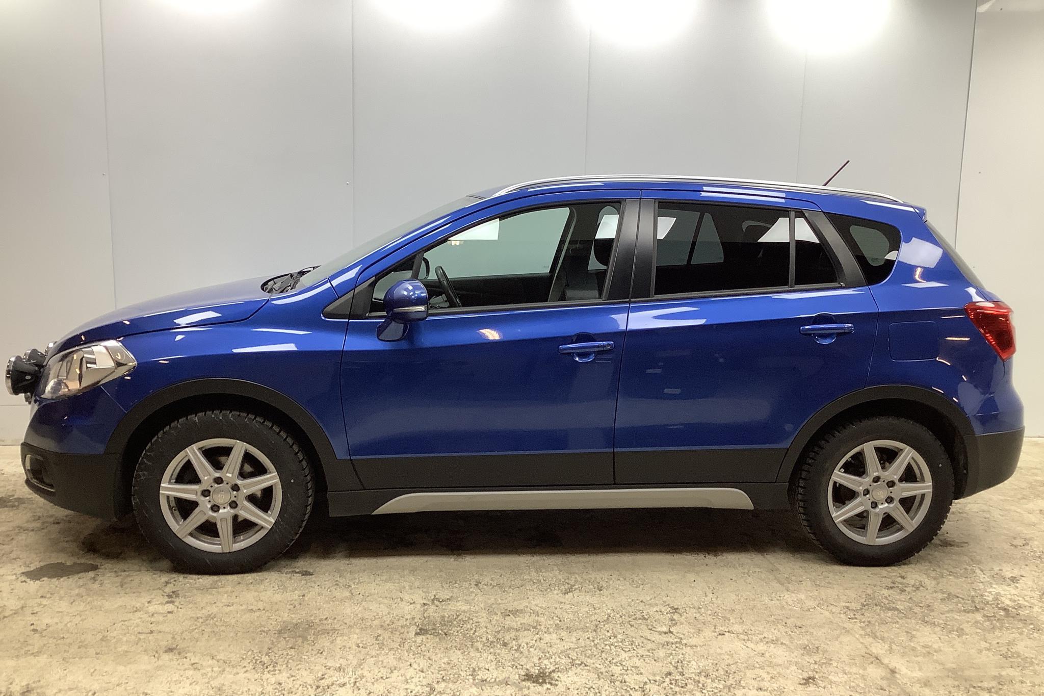 Suzuki S-Cross 1.6 4x4 (120hk) - 7 538 mil - Manuell - blå - 2015