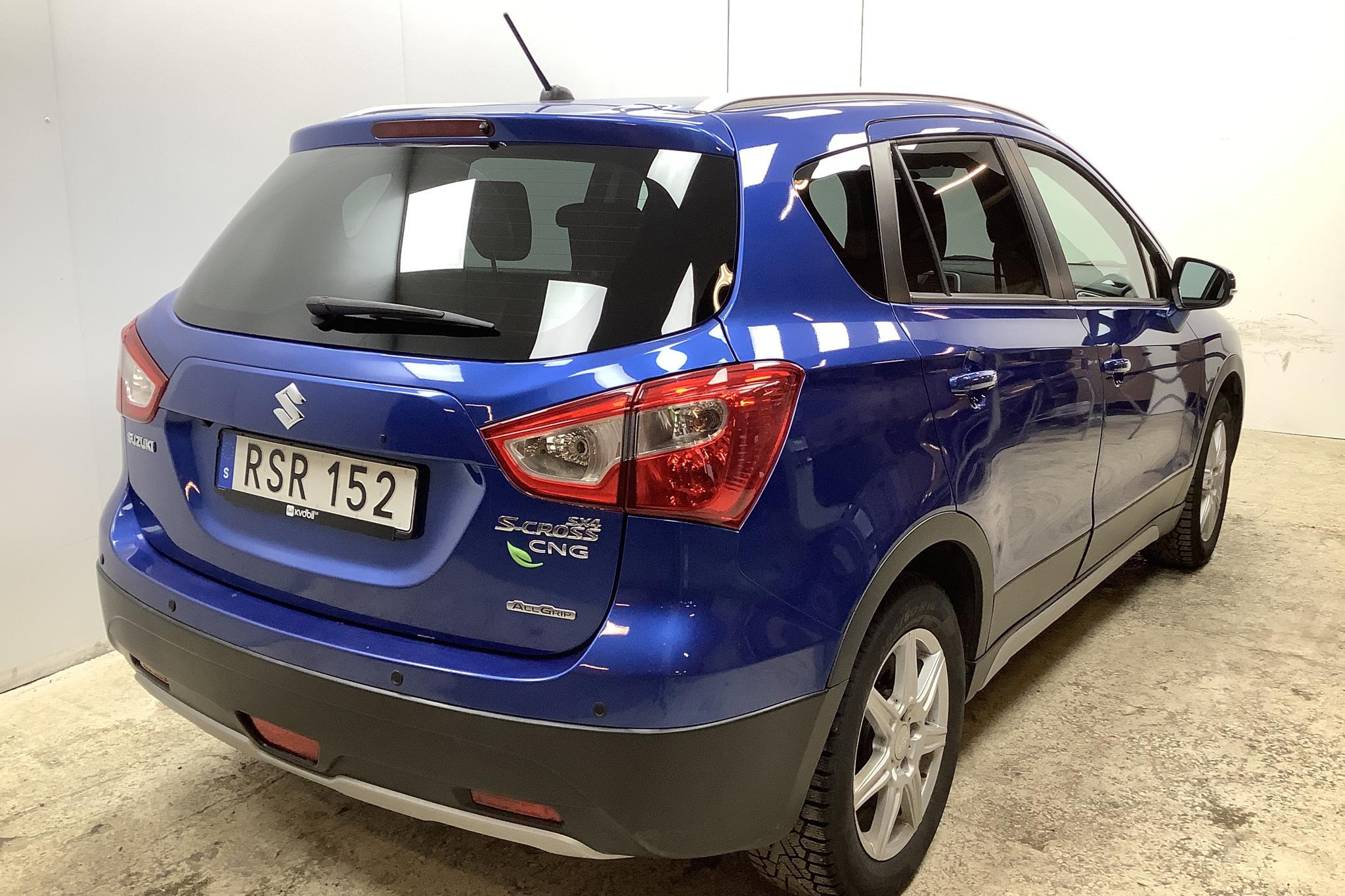 Suzuki S-Cross 1.6 4x4 (120hk) - 75 380 km - Manual - blue - 2015