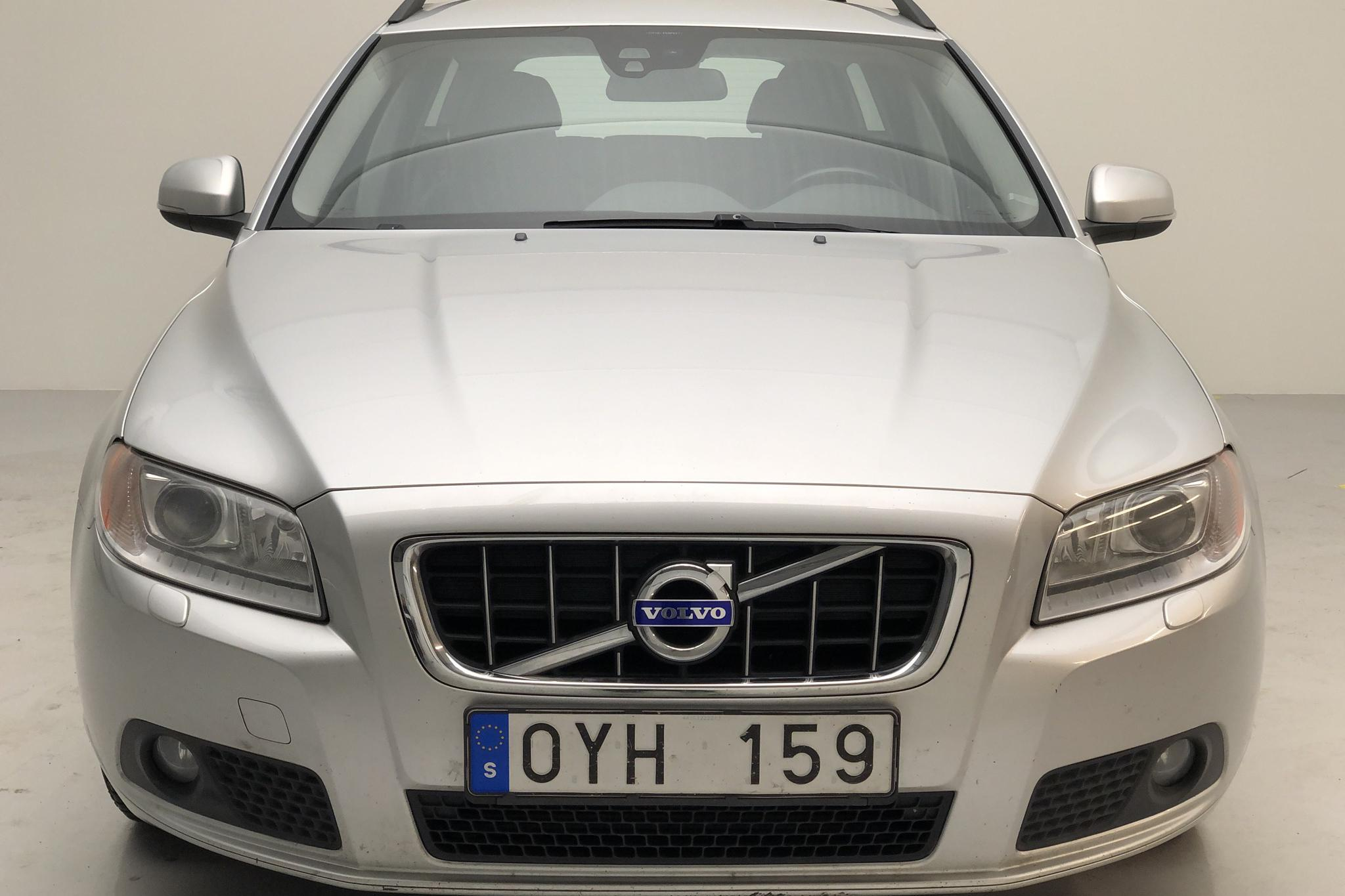 Volvo V70 II 1.6D DRIVe (115hk) - 276 860 km - Manual - Light Grey - 2012
