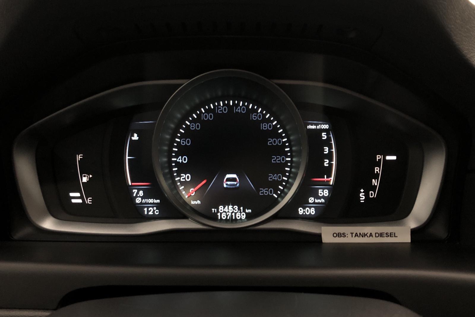 Volvo XC70 II D4 AWD (181hk) - 167 160 km - Automatic - white - 2016