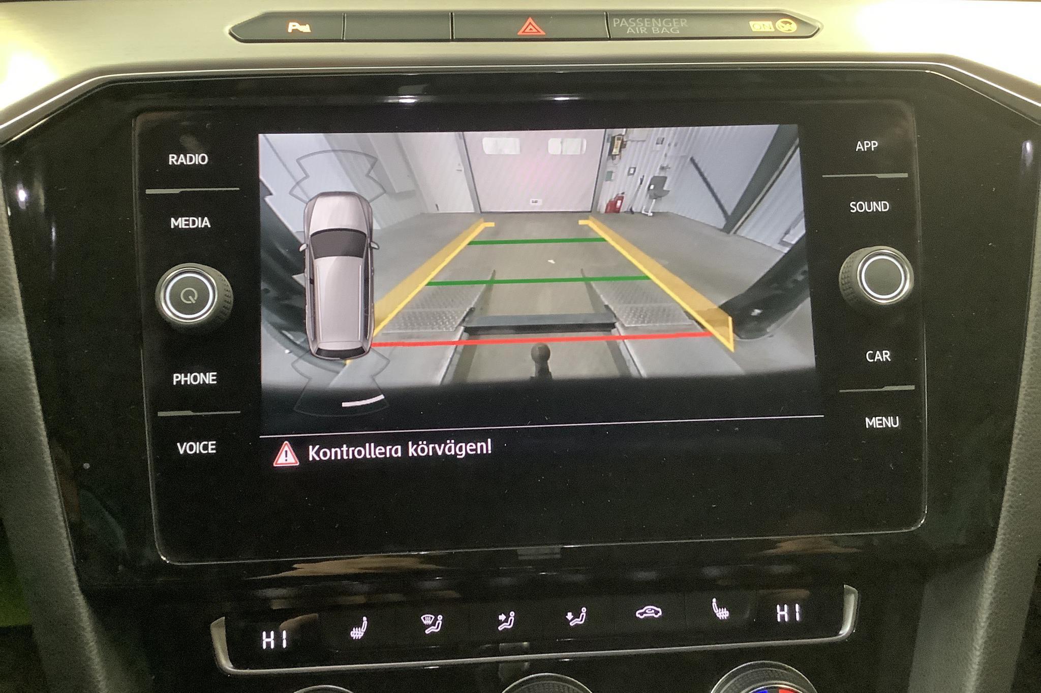 VW Passat 2.0 TDI Sportscombi 4MOTION (190hk) - 200 890 km - Automatic - black - 2018