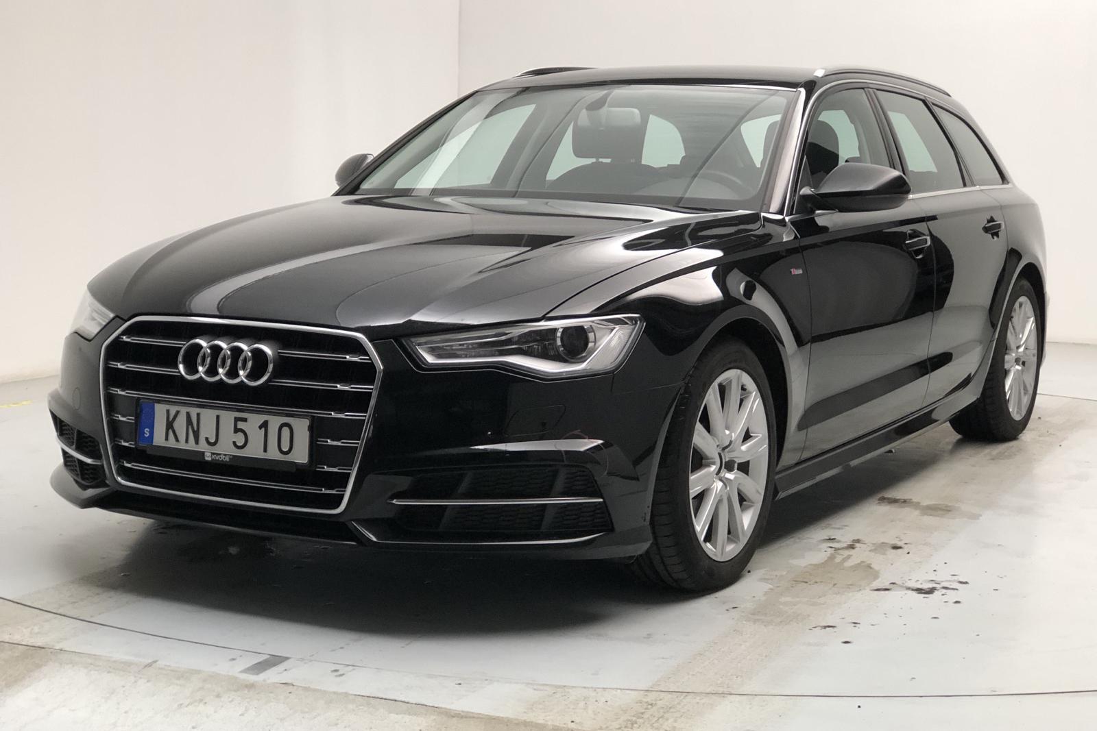 Audi A6 2.0 TDI Avant (190hk) - 72 670 km - Manual - black - 2017