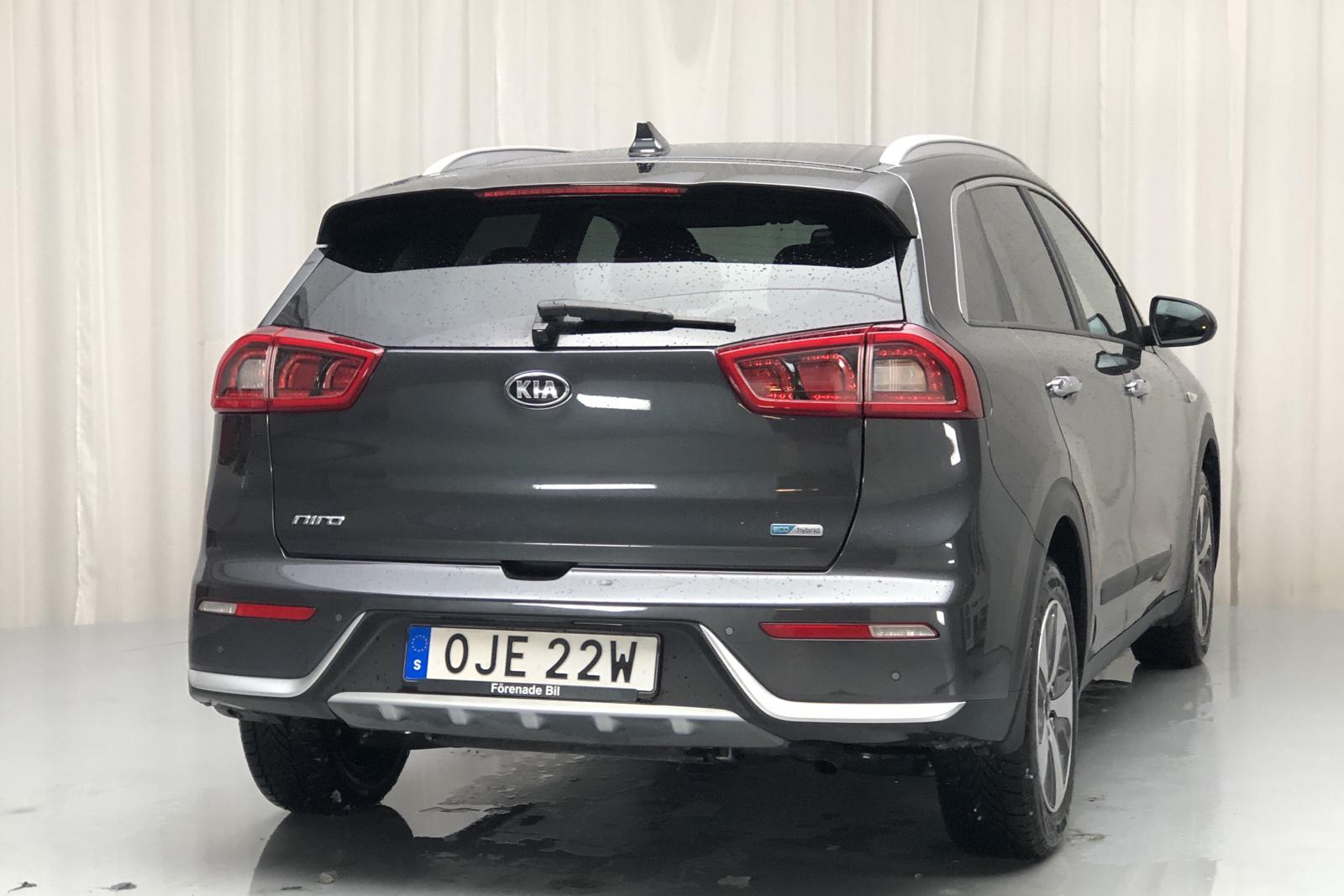 KIA Niro Hybrid 1.6 (141hk) - 21 200 km - Automatic - gray - 2019