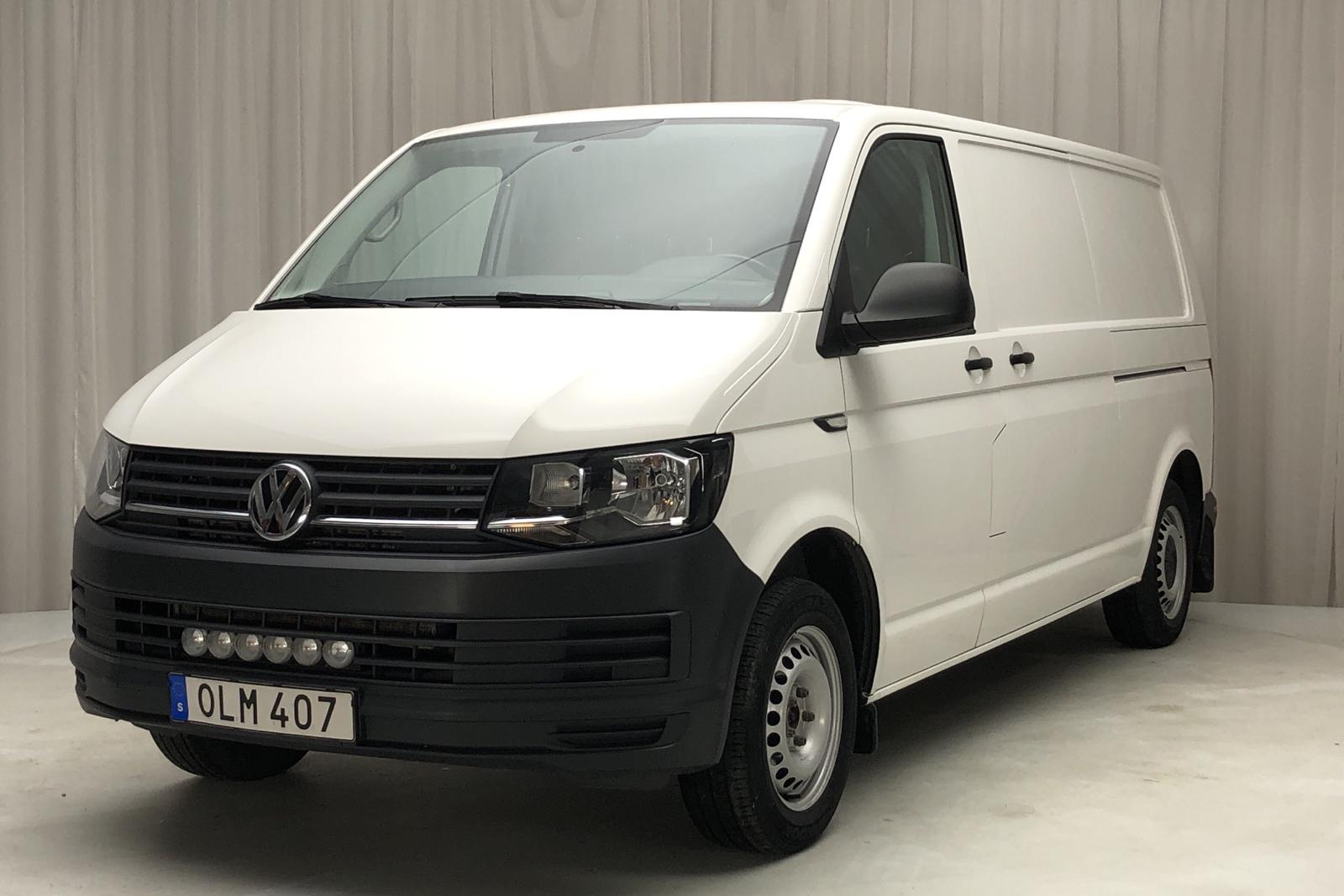 VW Transporter T6 2.0 TDI BMT Skåp (150hk) - 82 510 km - Manual - white - 2016