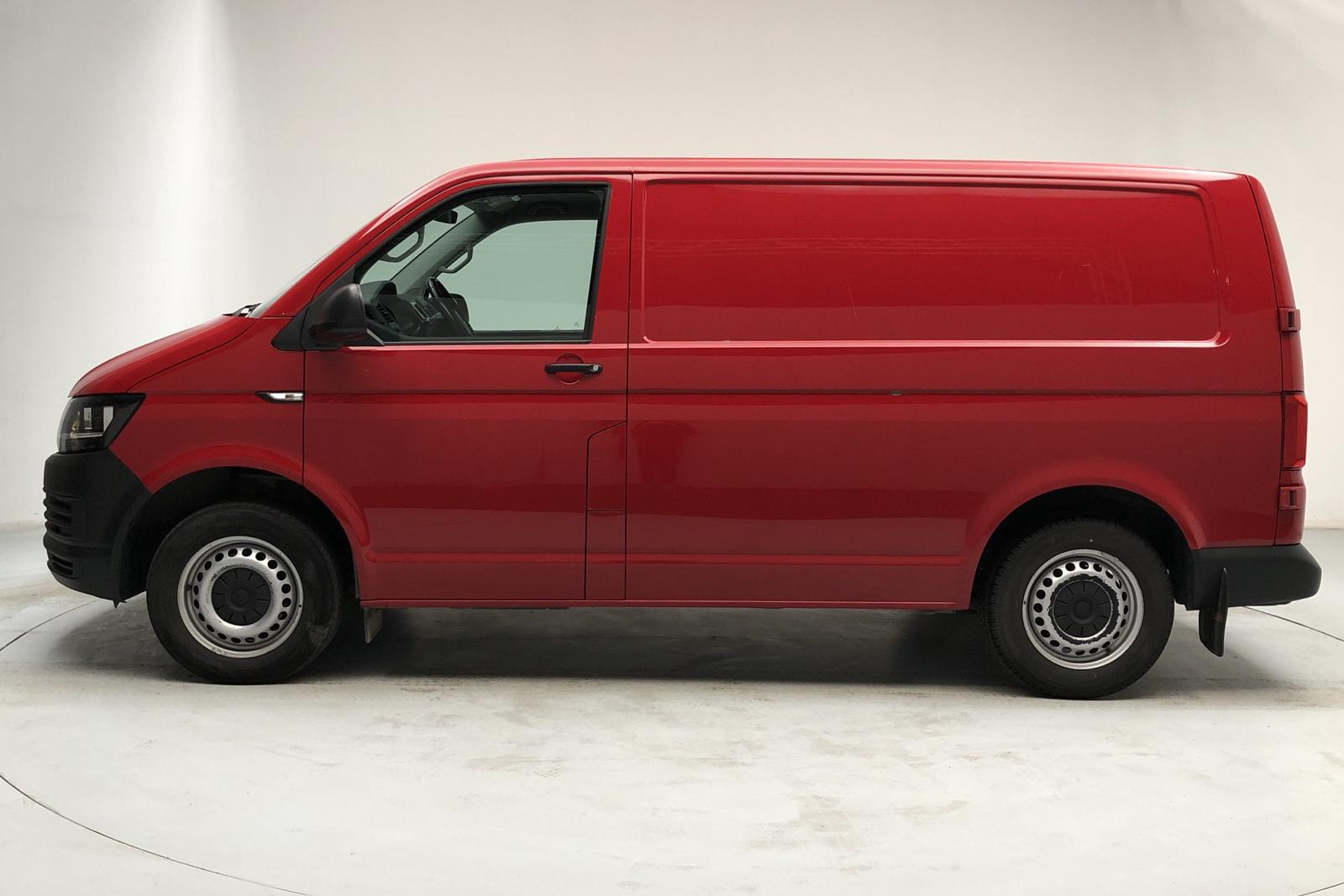 VW Transporter T6 2.0 TDI BMT Skåp (102hk) - 101 710 km - Manual - red - 2016