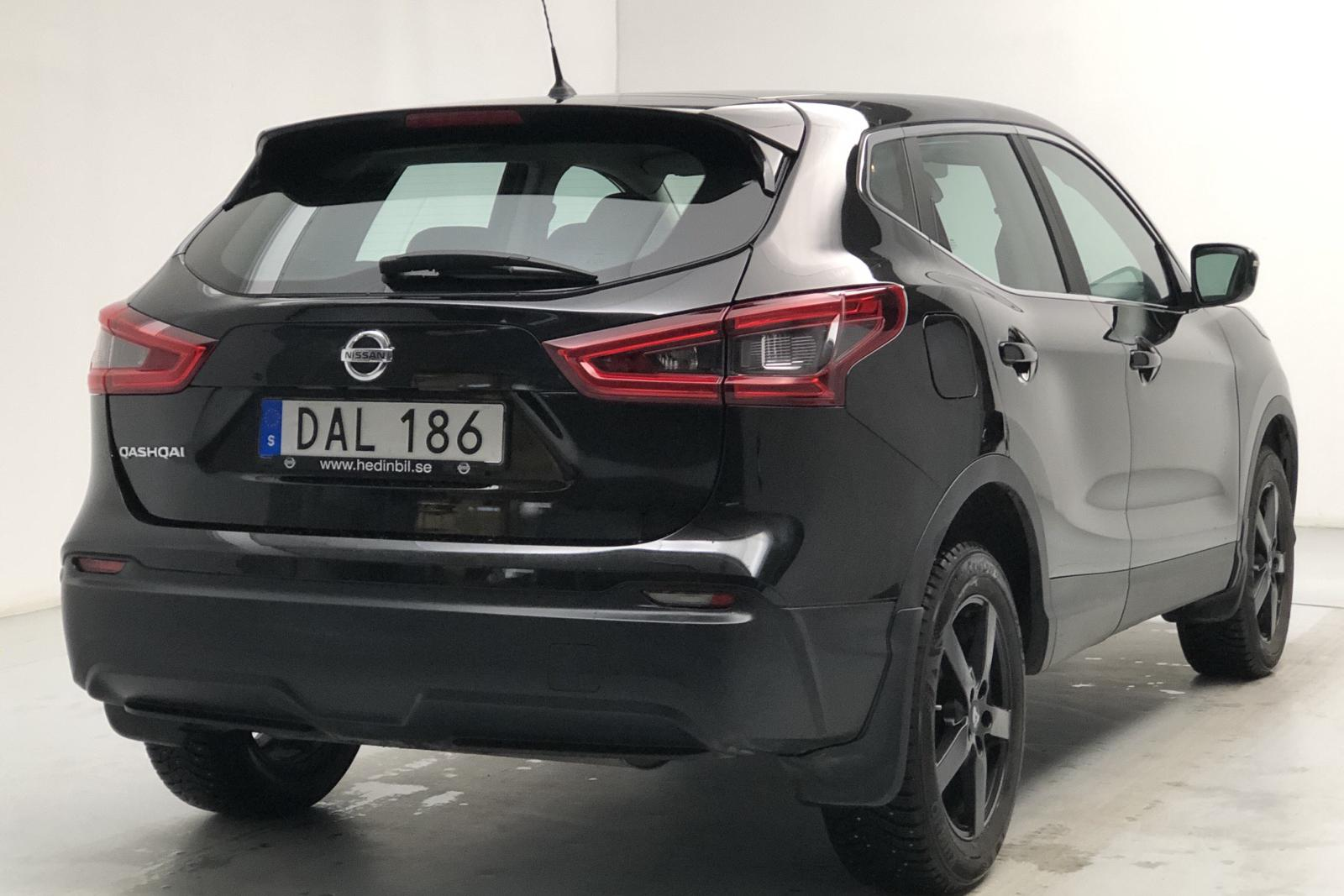 Nissan Qashqai 1.2 DIG-T (115hk) - 44 620 km - Manual - black - 2018