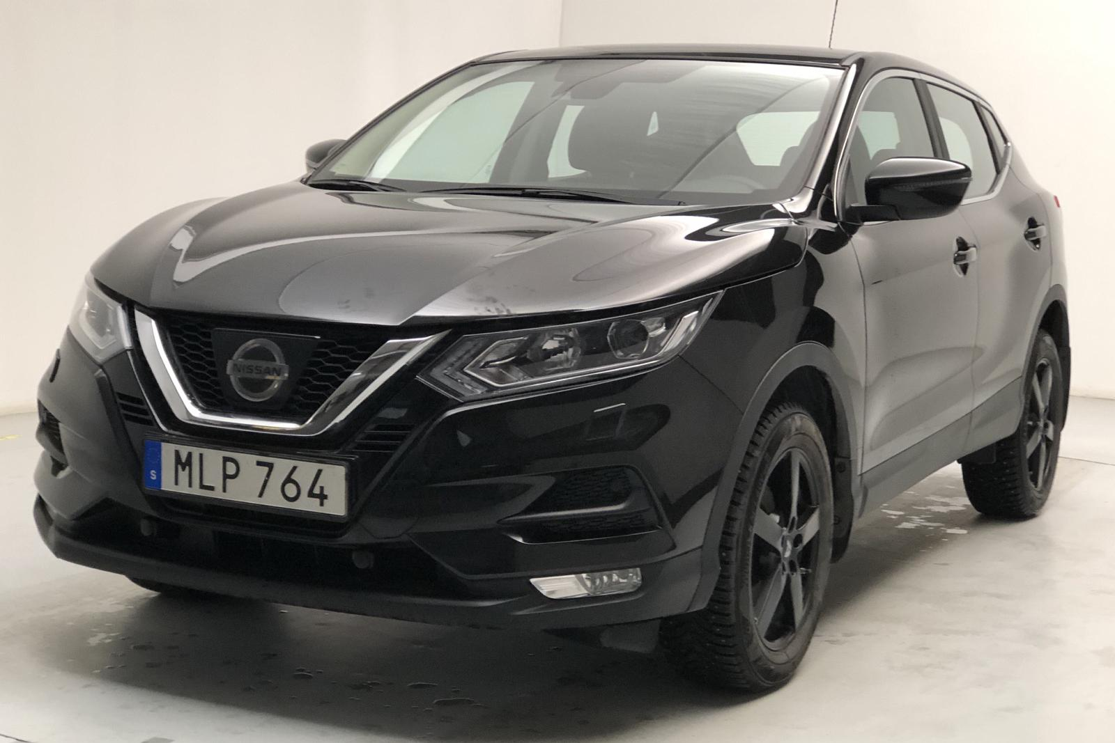 Nissan Qashqai 1.2 DIG-T (115hk) - 22 870 km - Manual - black - 2018