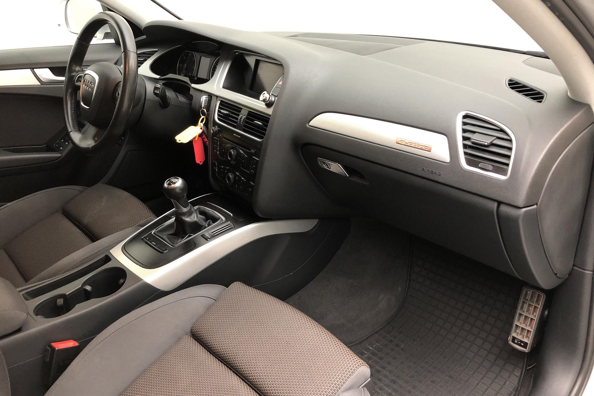 Audi A4 Allroad 2.0 TDI Avant quattro (170hk) - 221 530 km - Manual - silver - 2011