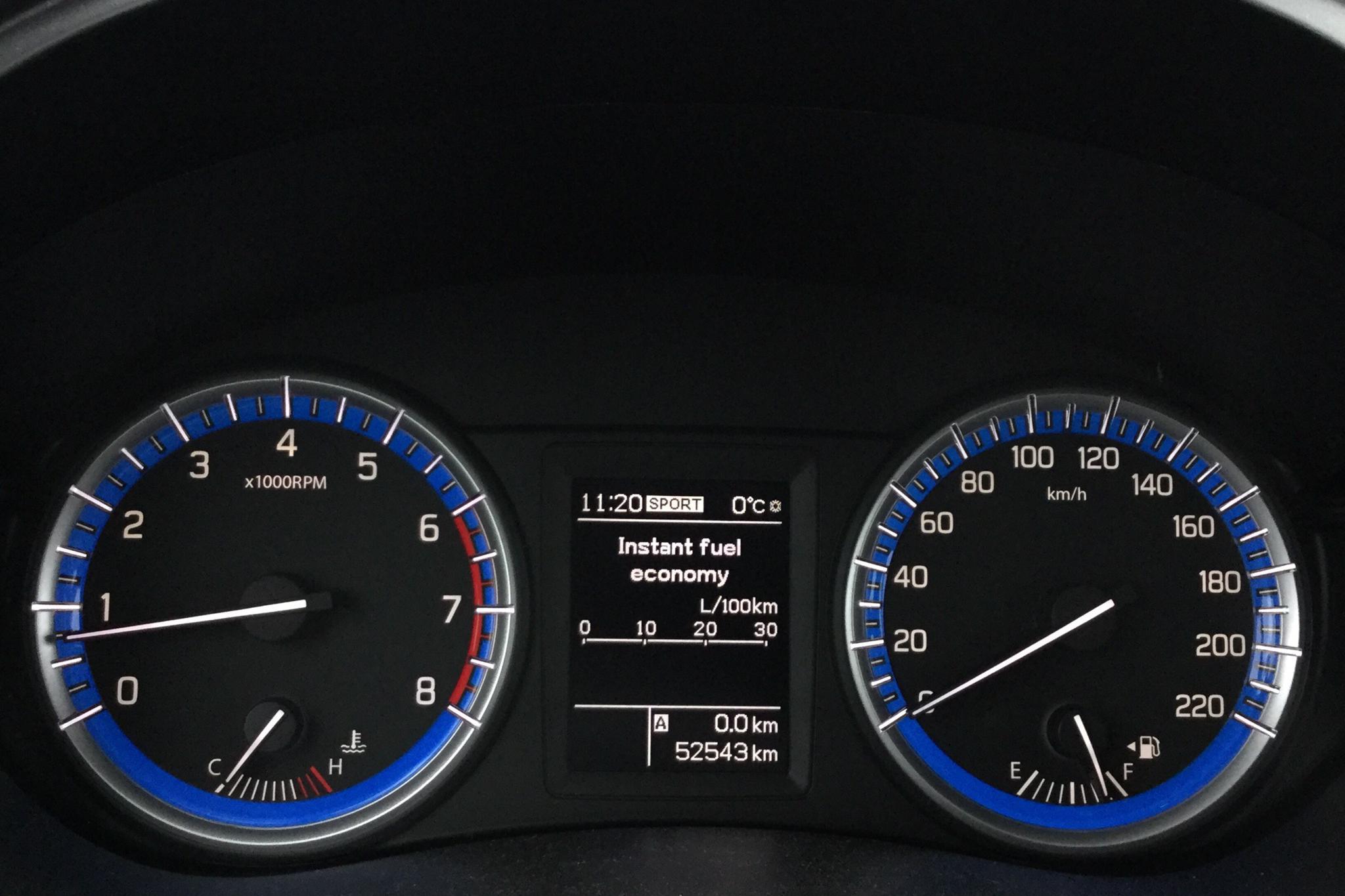 Suzuki S-Cross 1.6 4x4 (120hk) - 52 540 km - Manual - white - 2014