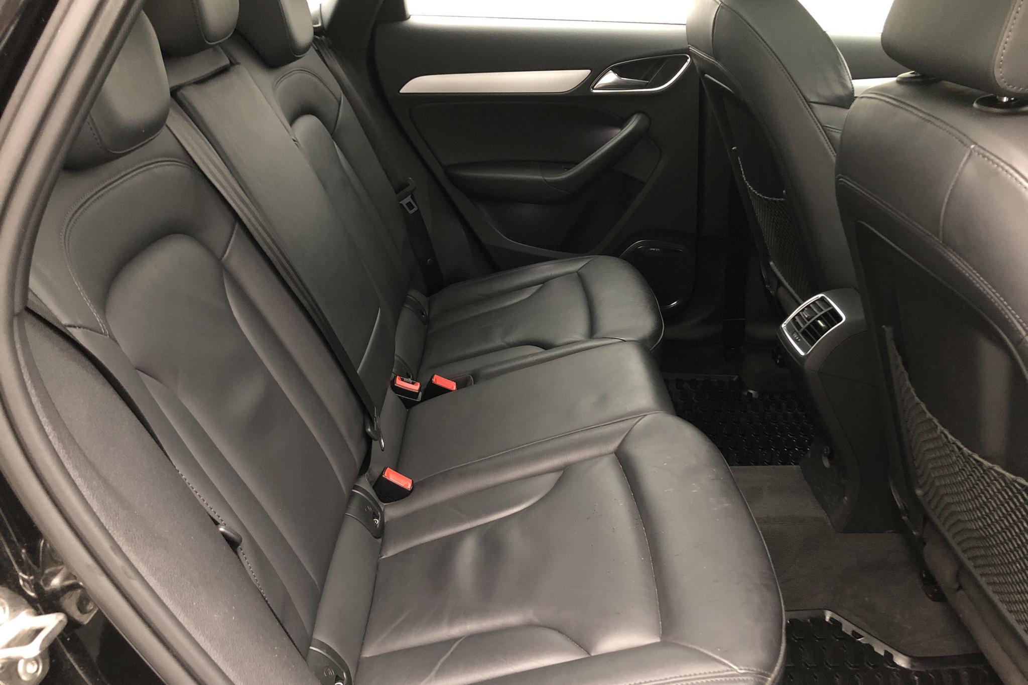 Audi Q3 2.0 TDI quattro (184hk) - 45 010 km - Automatic - black - 2016