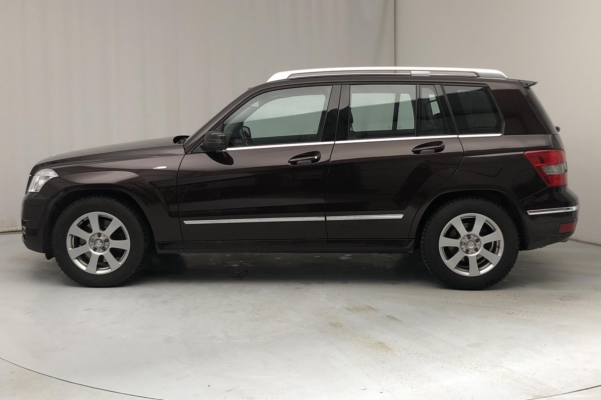 Mercedes GLK 220 CDI BlueEFFICIENCY 4MATIC (170hk) - 135 800 km - Automatic - Dark Brown - 2011