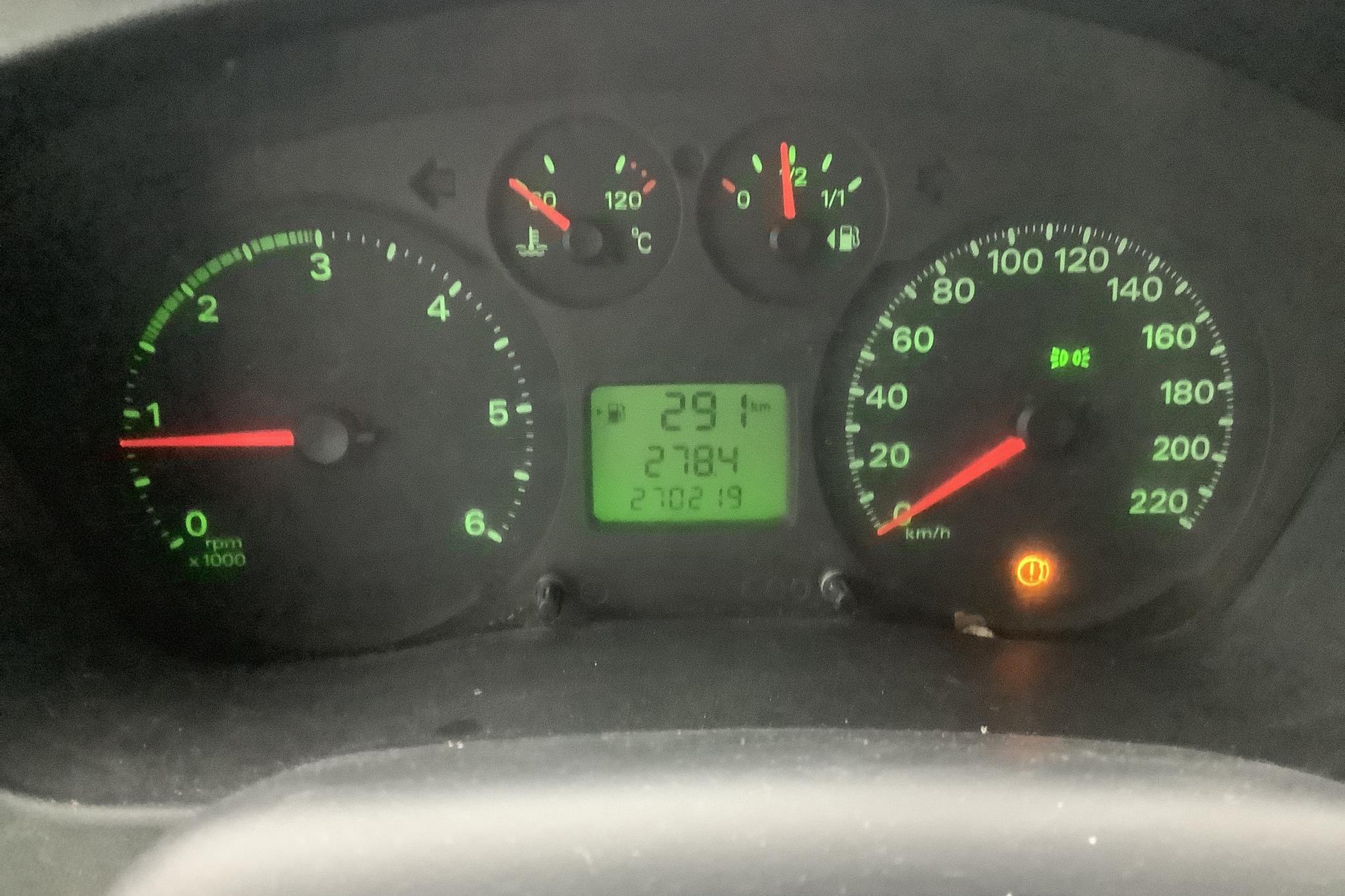 Ford Transit 300 2.2 TDCi Pickup (130hk) - 270 220 km - Manual - white - 2007