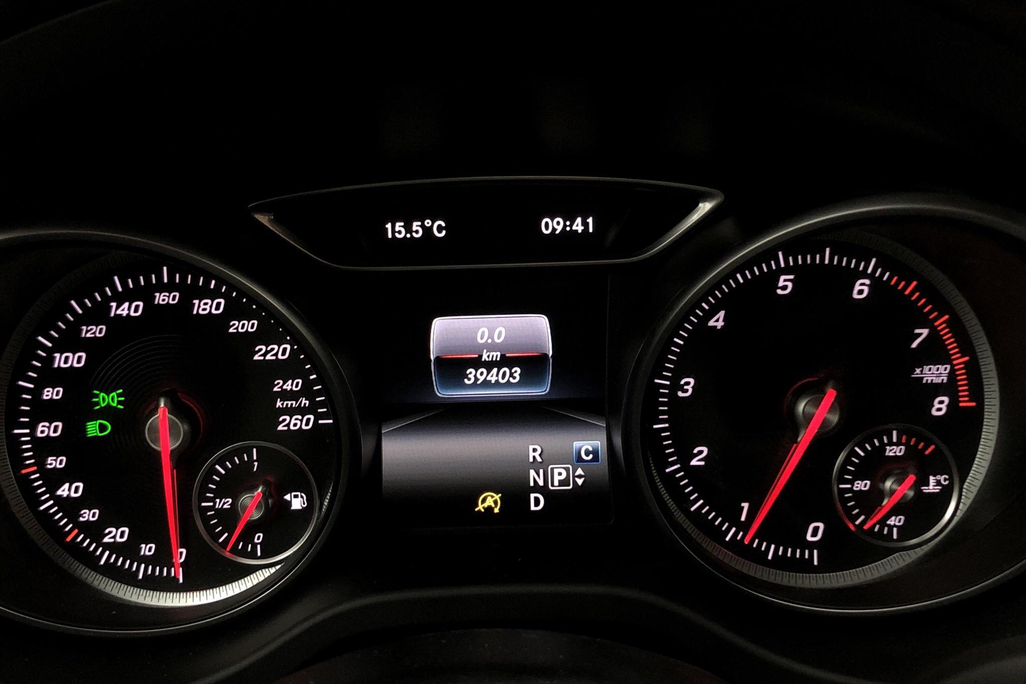 Mercedes CLA 250 Coupé C117 (211hk) - 39 400 km - Automatic - red - 2017