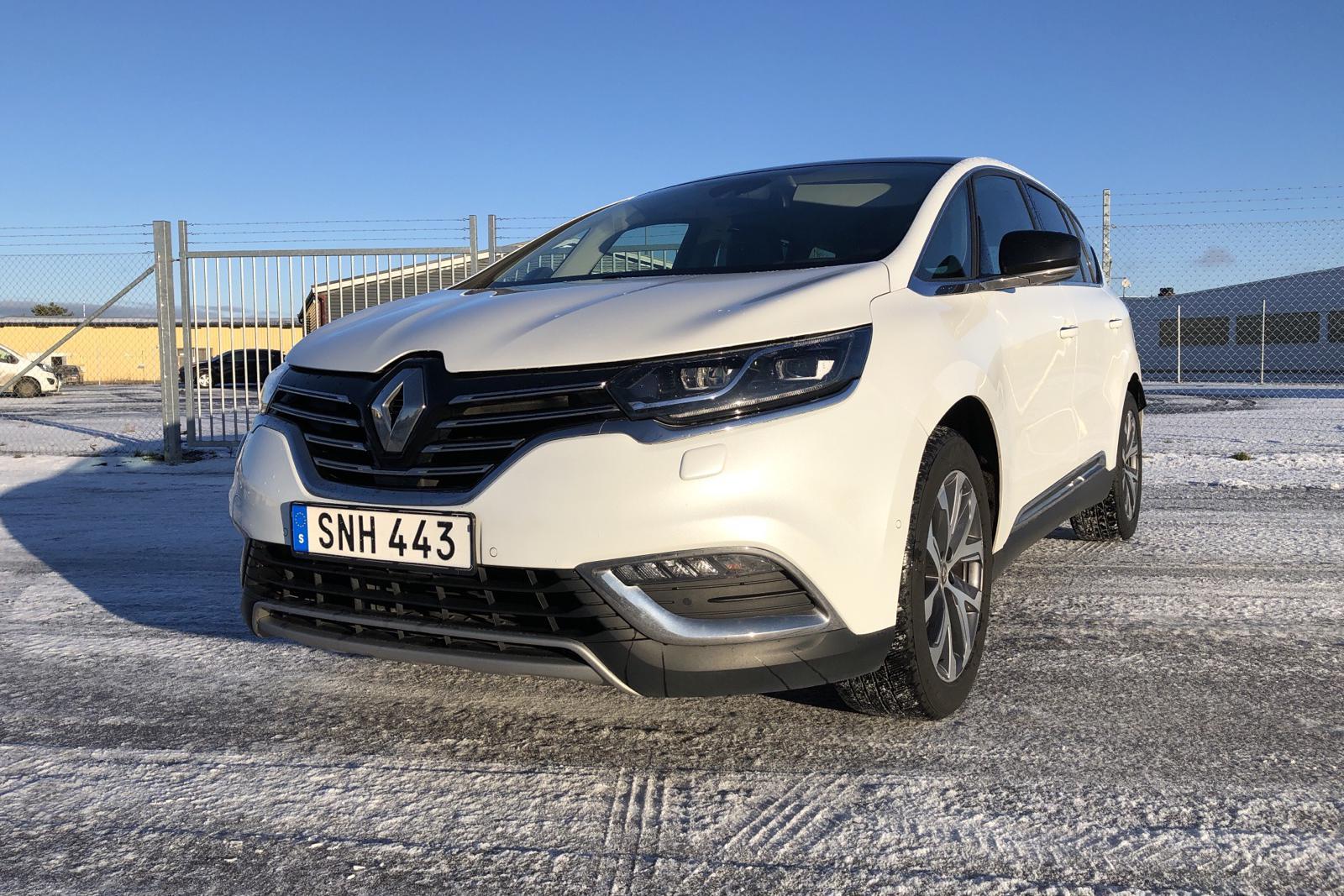 Renault Espace 1.6 dCi (160hk) - 151 700 km - Automatic - white - 2017