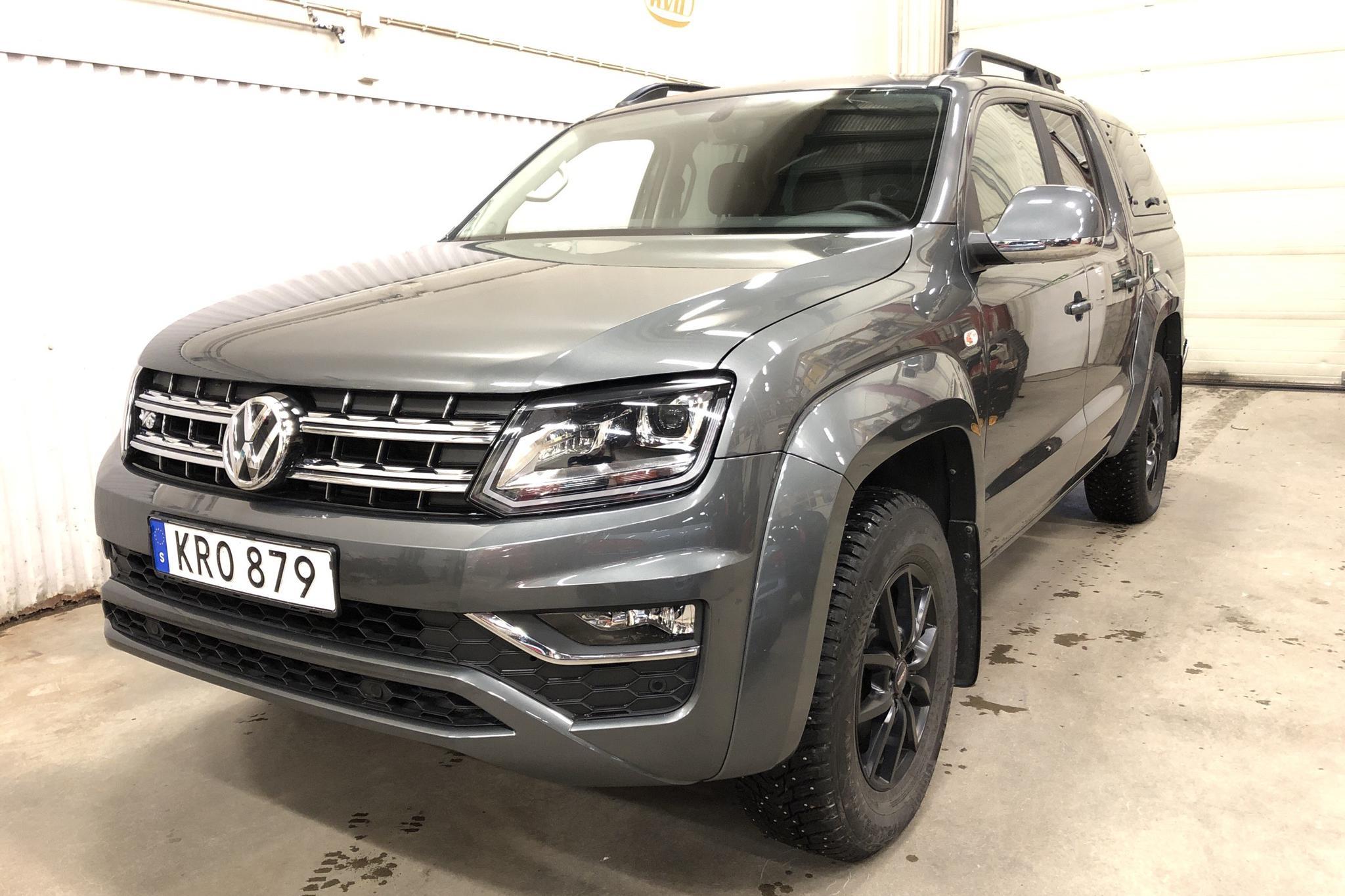 VW Amarok 3.0 TDI 4motion (258hk) - 2 926 mil - Automat - grå - 2019