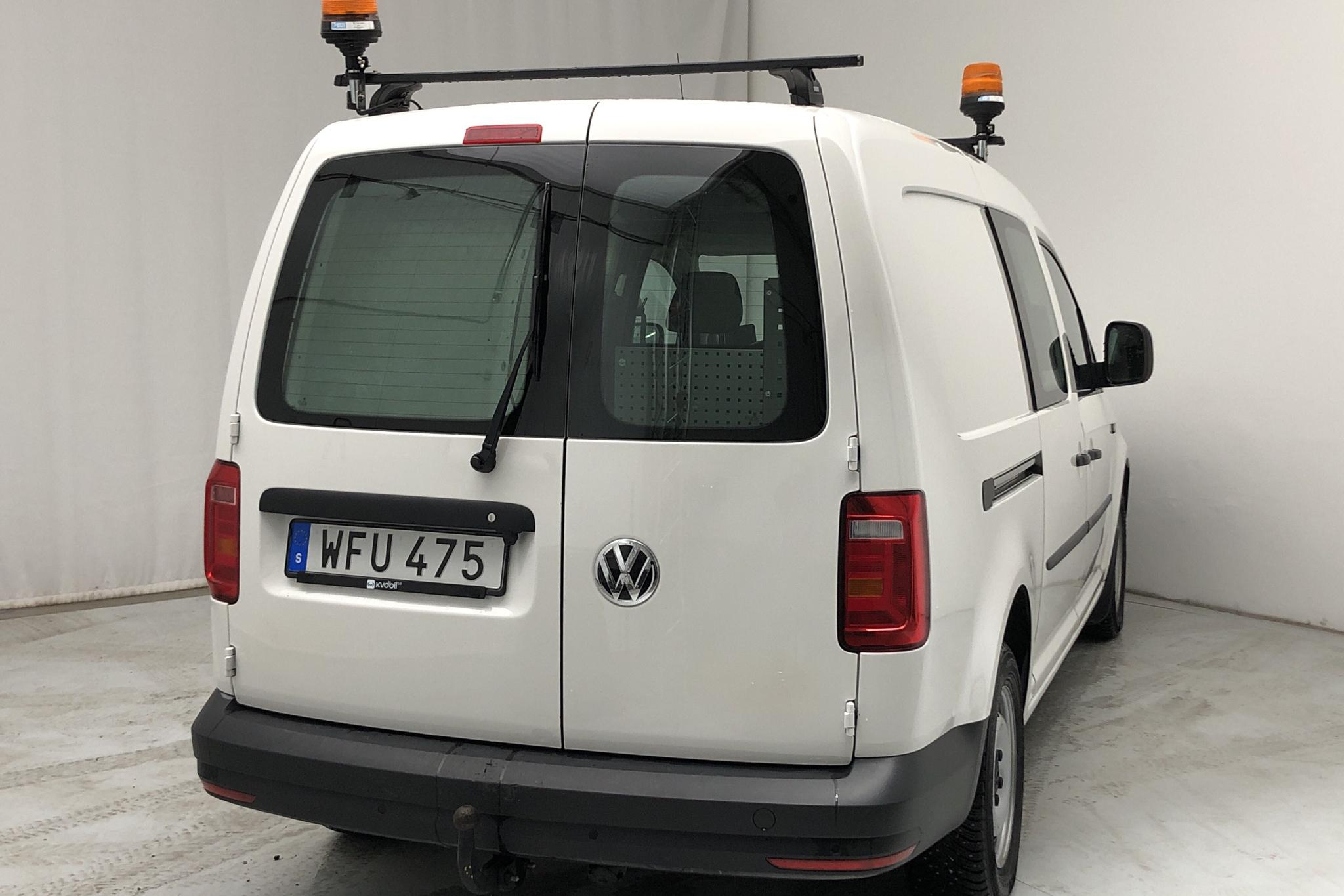 VW Caddy 1.4 TGI Maxi Skåp (110hk) - 16 660 km - Automatic - white - 2017