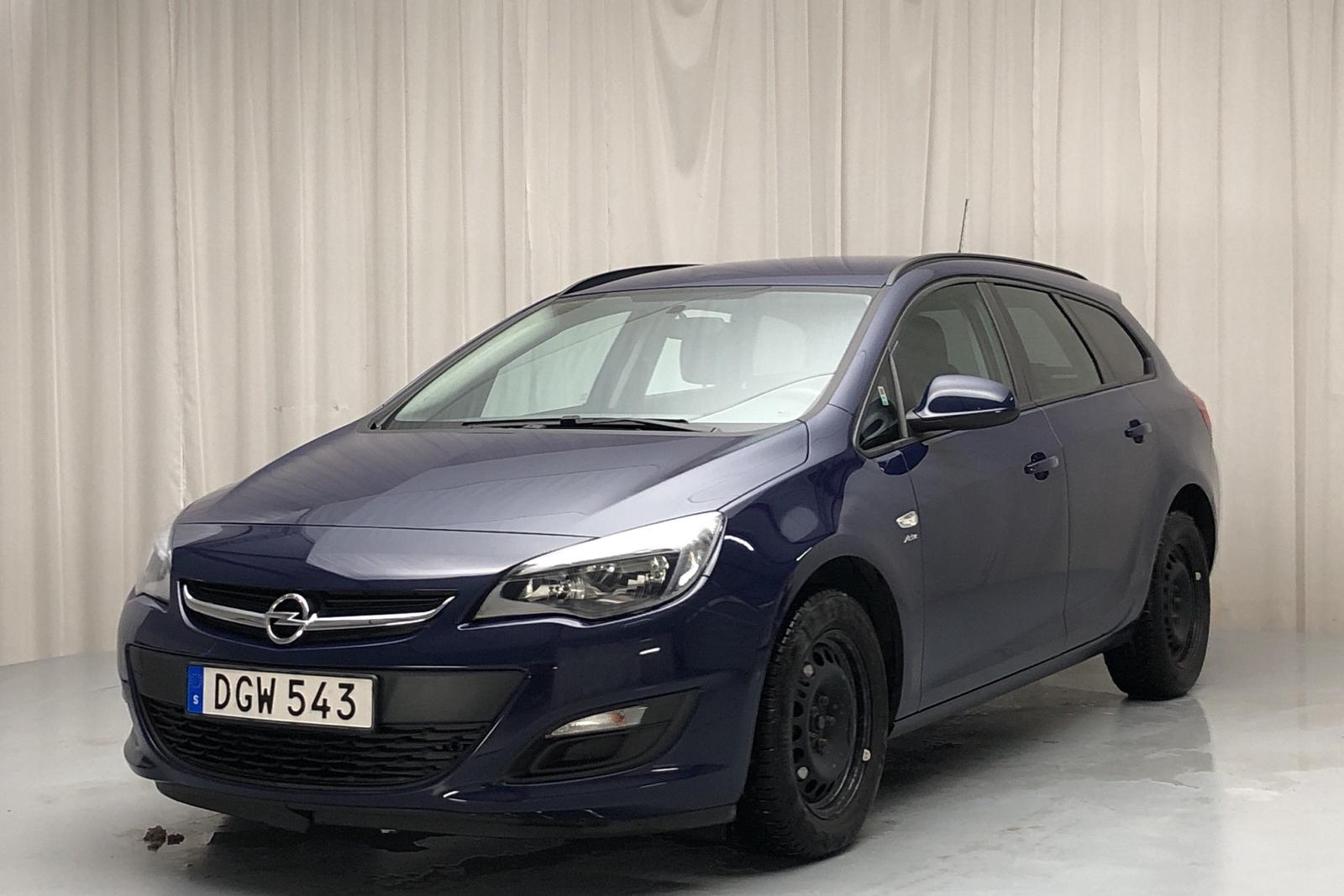 Opel Astra 1.6 ECOTEC Sports Tourer (115hk) - 3 148 mil - Manuell - blå - 2014