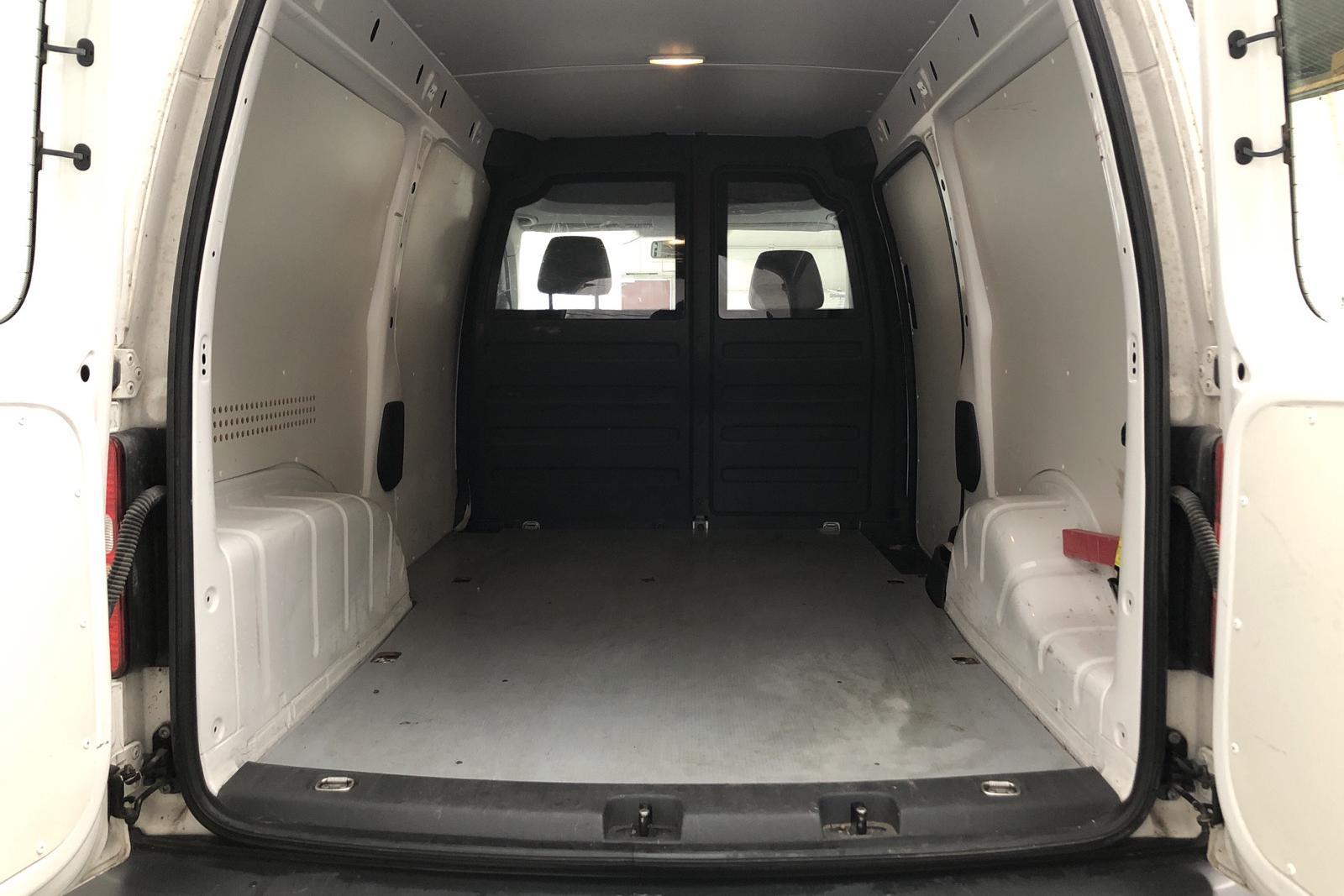VW Caddy 1.6 TDI Maxi Skåp (102hk) - 99 660 km - Manual - white - 2012