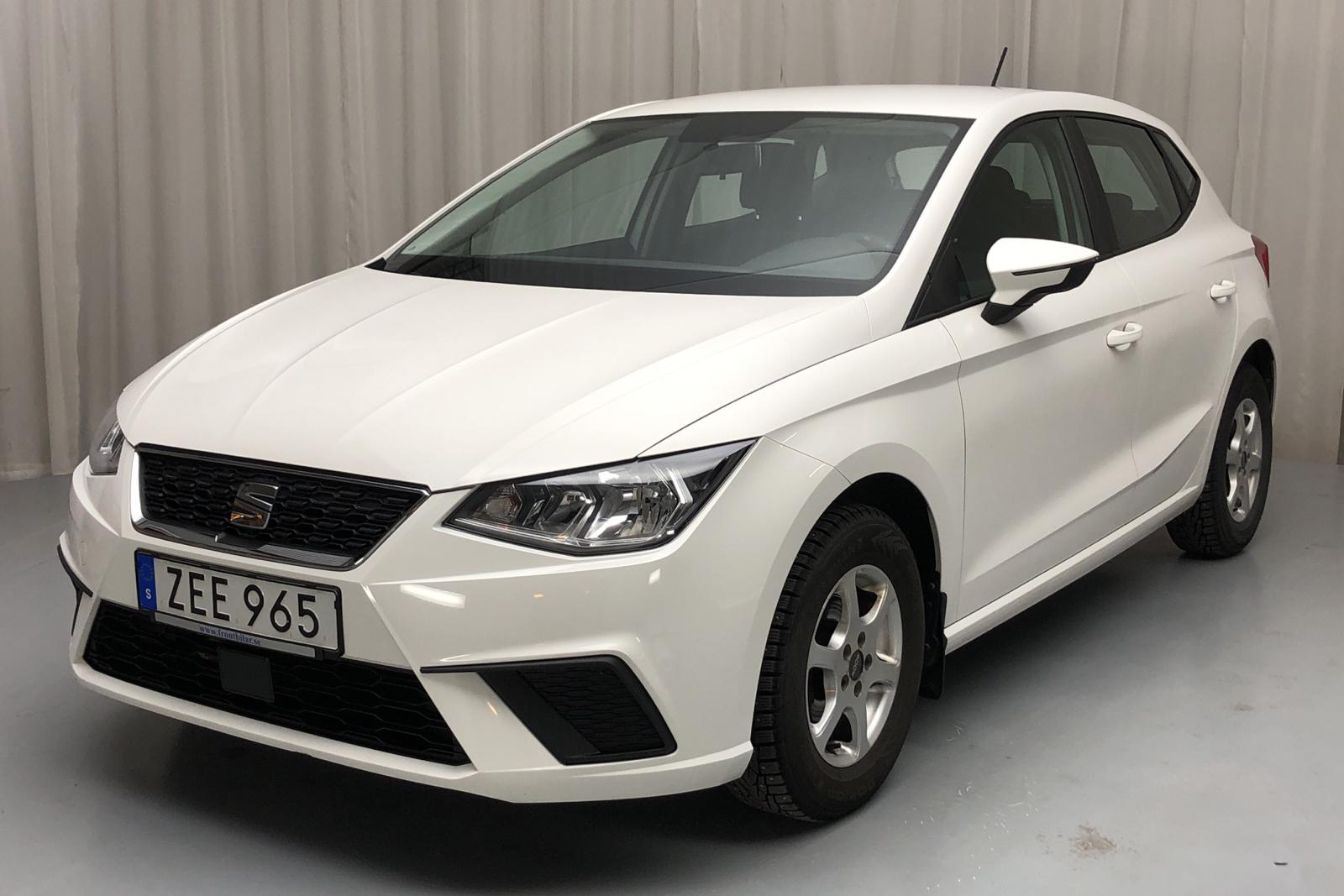 Seat Ibiza 1.0 TSI 5dr (95hk) - 42 710 km - Manual - white - 2018