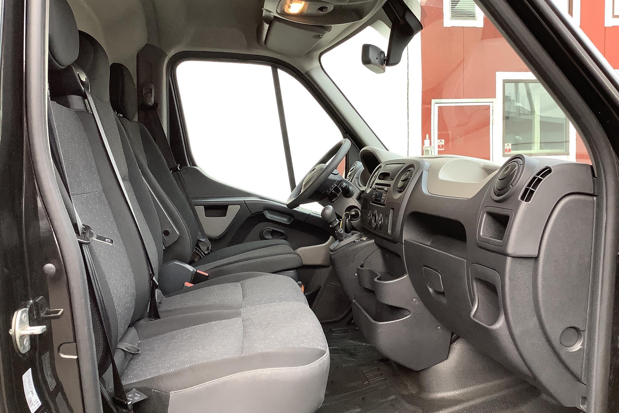 Opel Movano 2.3 CDTI 2WD Skåp (145hk) - 12 175 mil - Manuell - svart - 2017