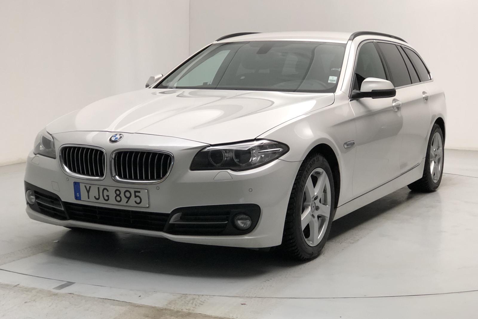 BMW 520d xDrive Touring, F11 (190hk) - 10 679 mil - Automat - vit - 2017