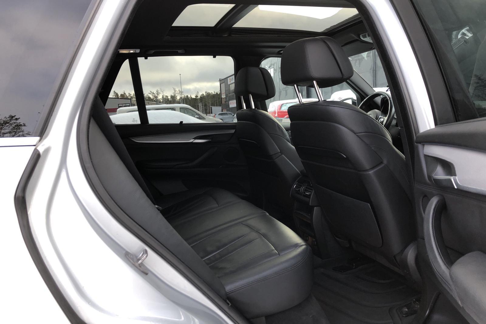 BMW X5 xDrive30d, F15 (258hk) - 139 630 km - Automatic - silver - 2014