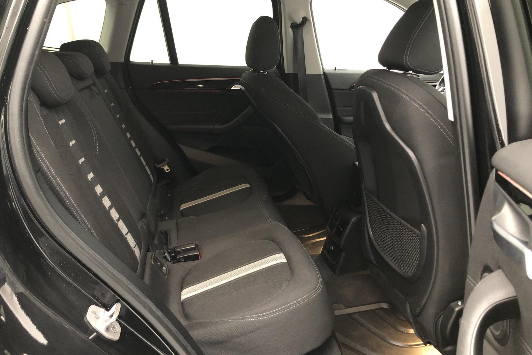 BMW X1 xDrive18d, F48 (150hk) - 88 710 km - Automatic - black - 2017