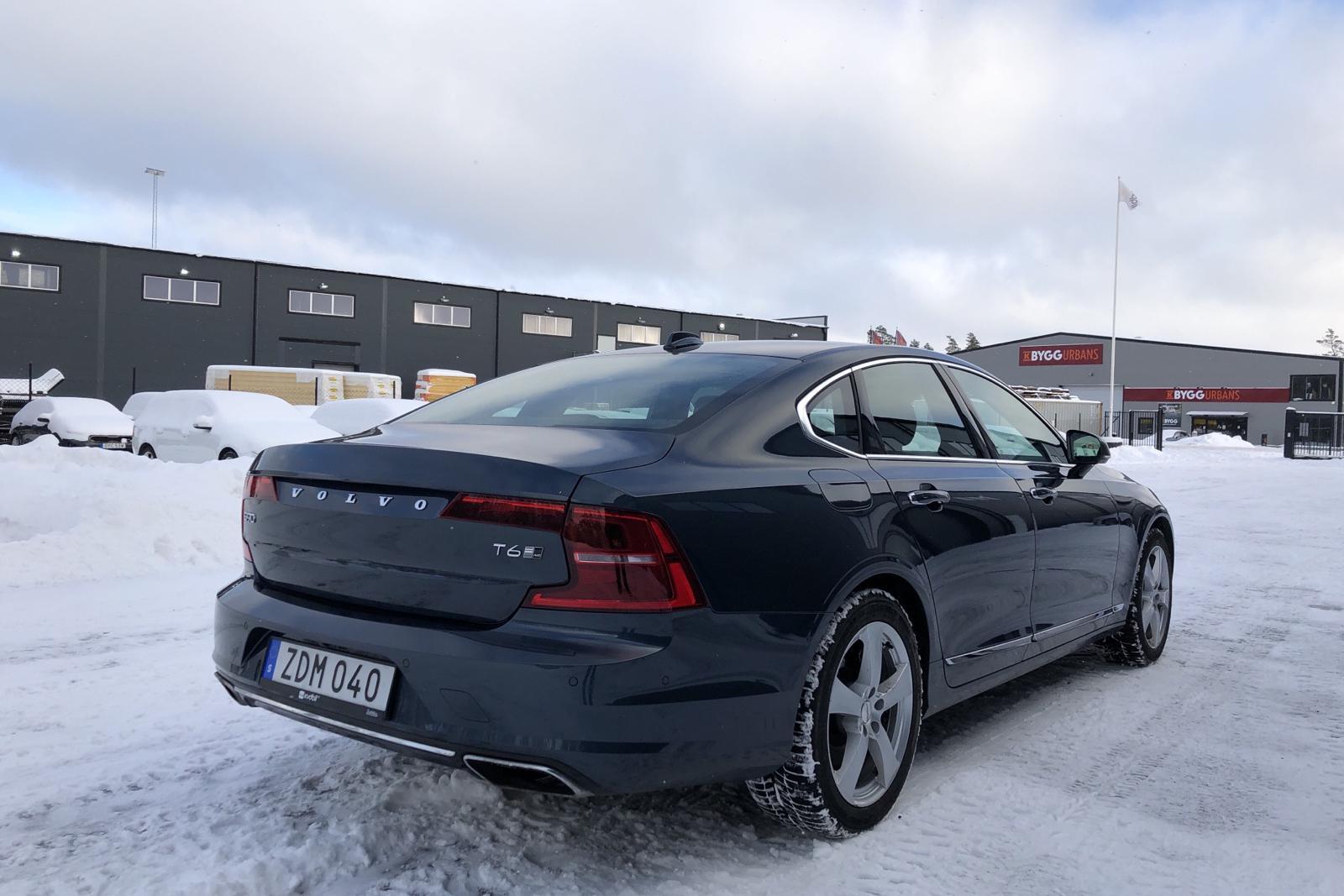 Volvo S90 T6 AWD (320hk) - 3 168 mil - Automat - Dark Blue - 2018