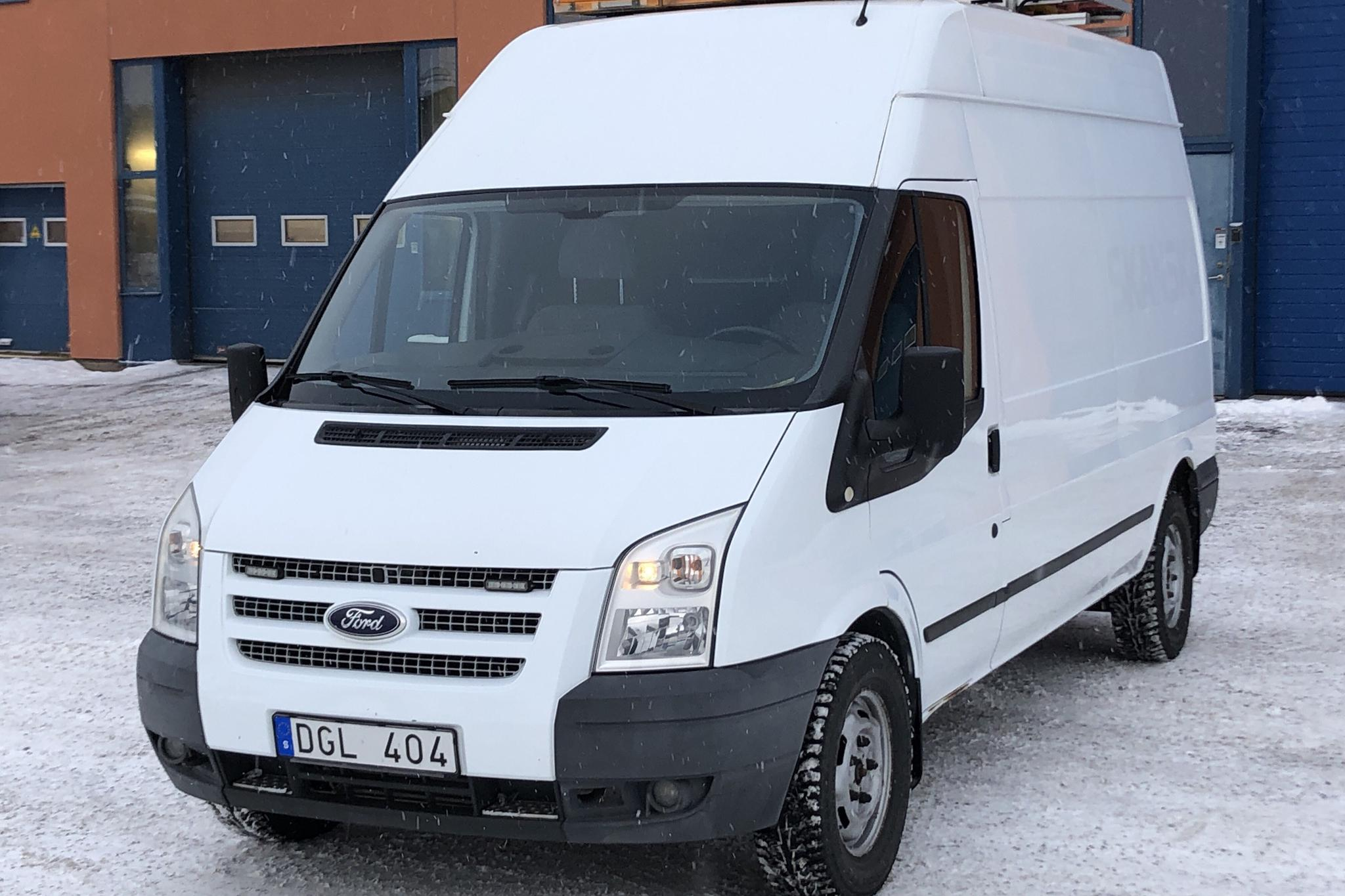 Ford Transit 350 2.2 TDCi Skåp (140hk) - 55 240 km - Manual - white - 2013