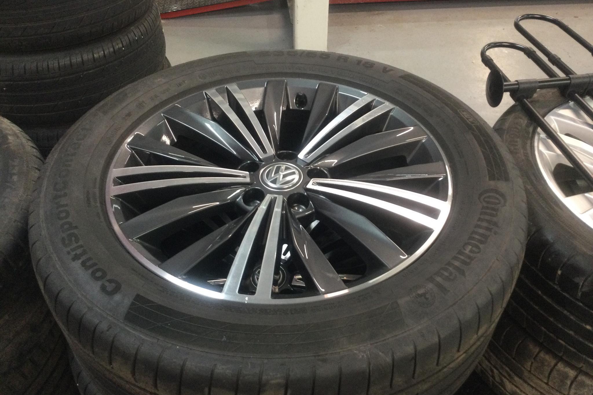 VW Tiguan 2.0 TDI 4MOTION (190hk) - 87 410 km - Automatic - white - 2018