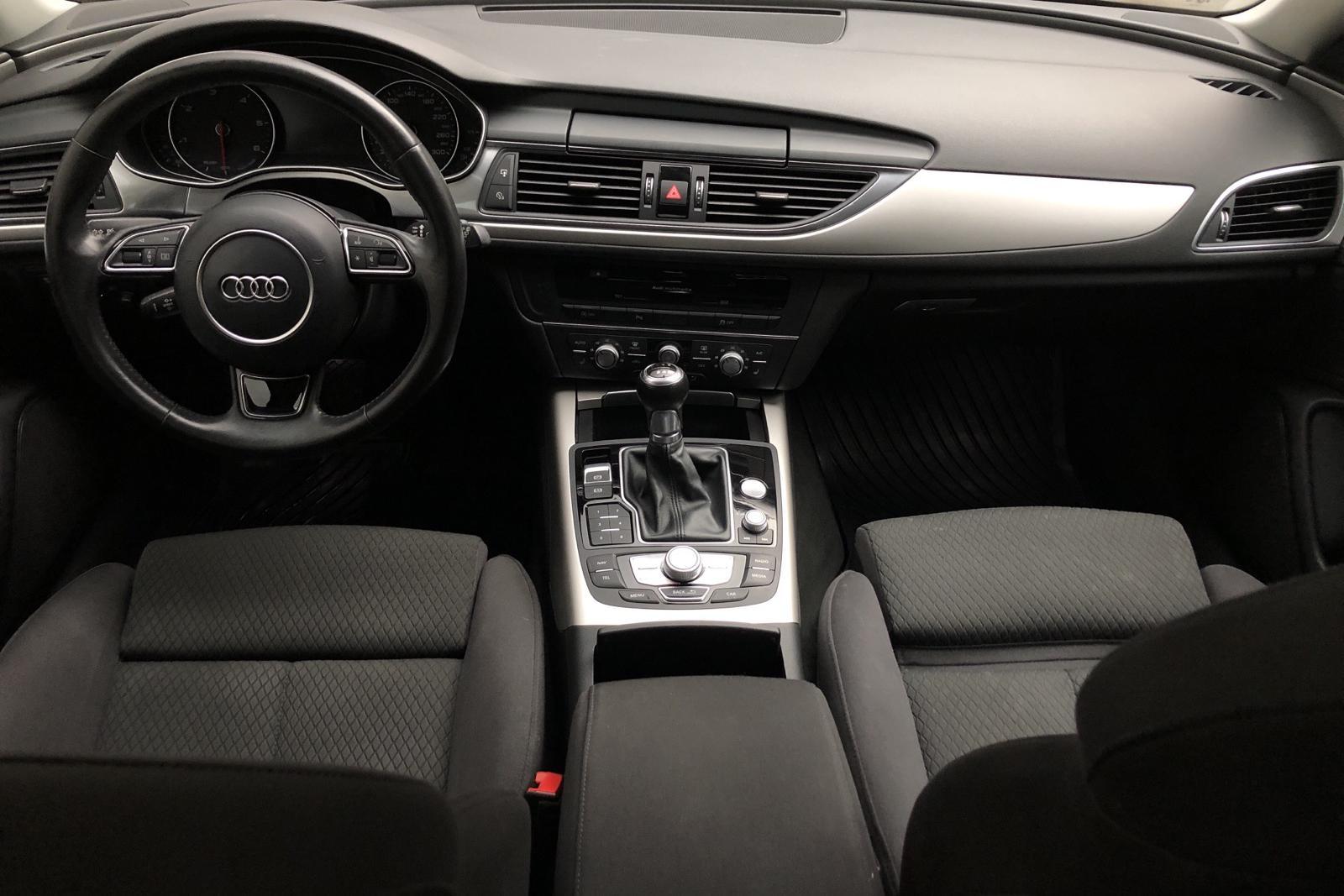Audi A6 2.0 TDI Avant (190hk) - 9 480 mil - Manuell - svart - 2017