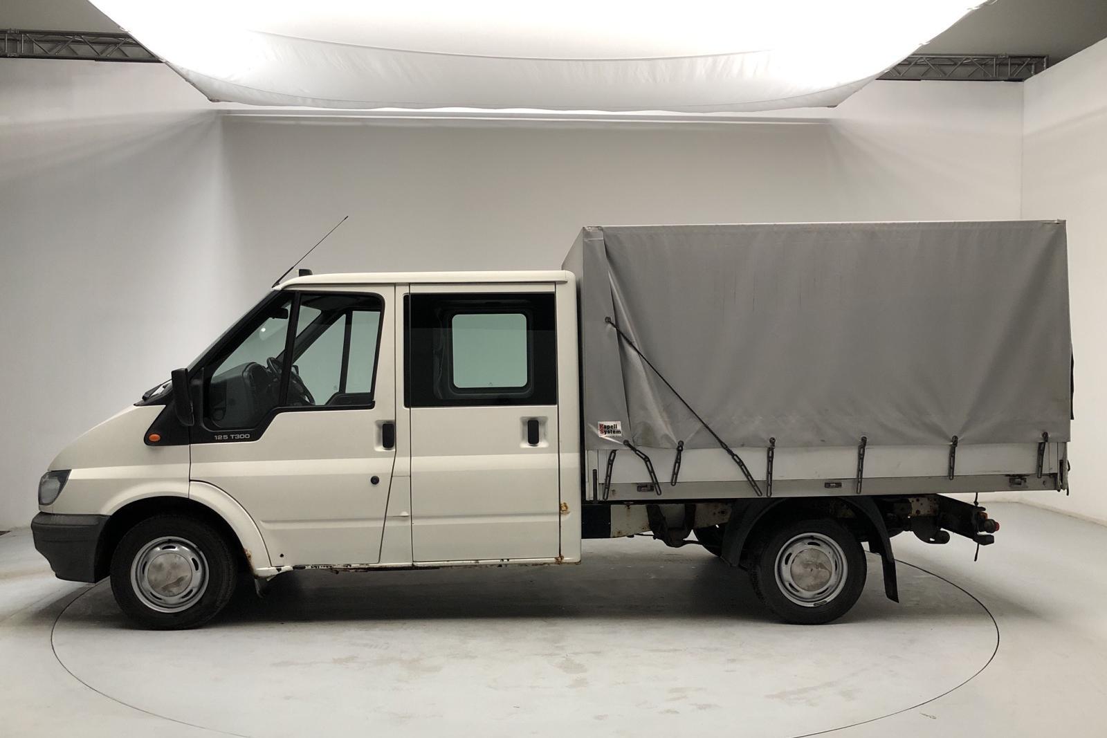 Ford Transit 300 2.0 TDCi Pickup (125hk) - 166 560 km - Manual - white - 2006