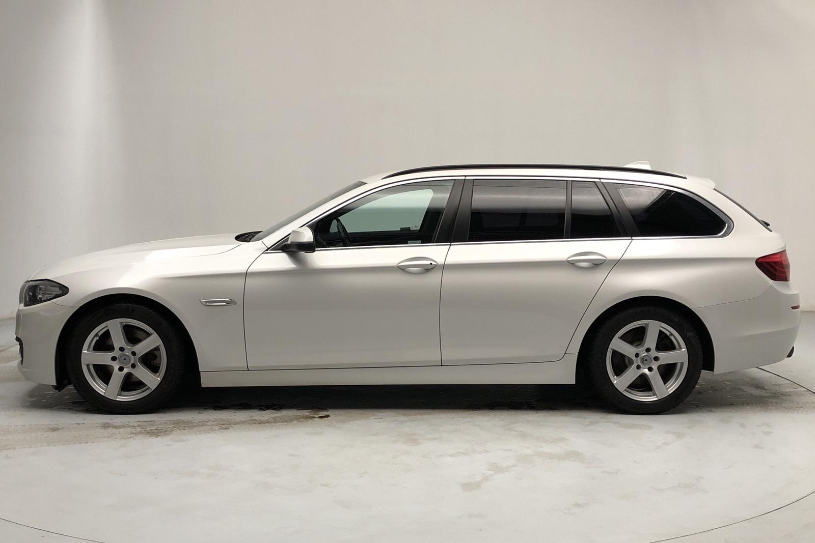 BMW 520d xDrive Touring, F11 (190hk) - 131 270 km - Automatic - white - 2017