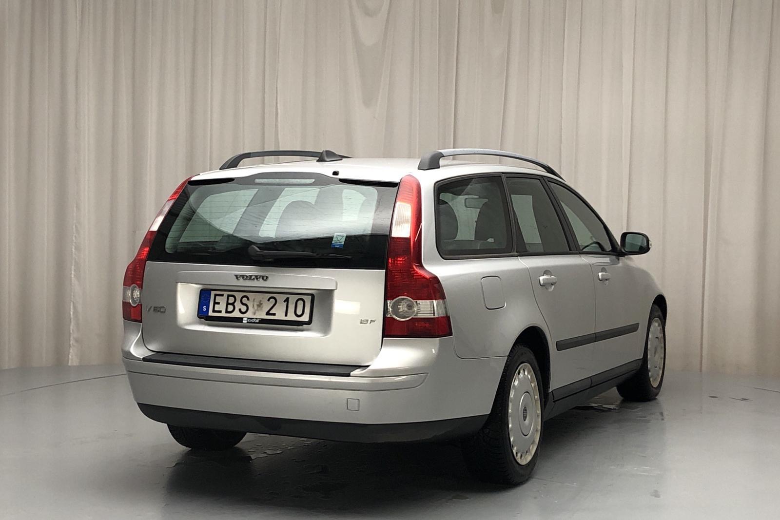 Volvo V50 1.8F (125hk) - 12 852 mil - Manuell - Light Grey - 2007