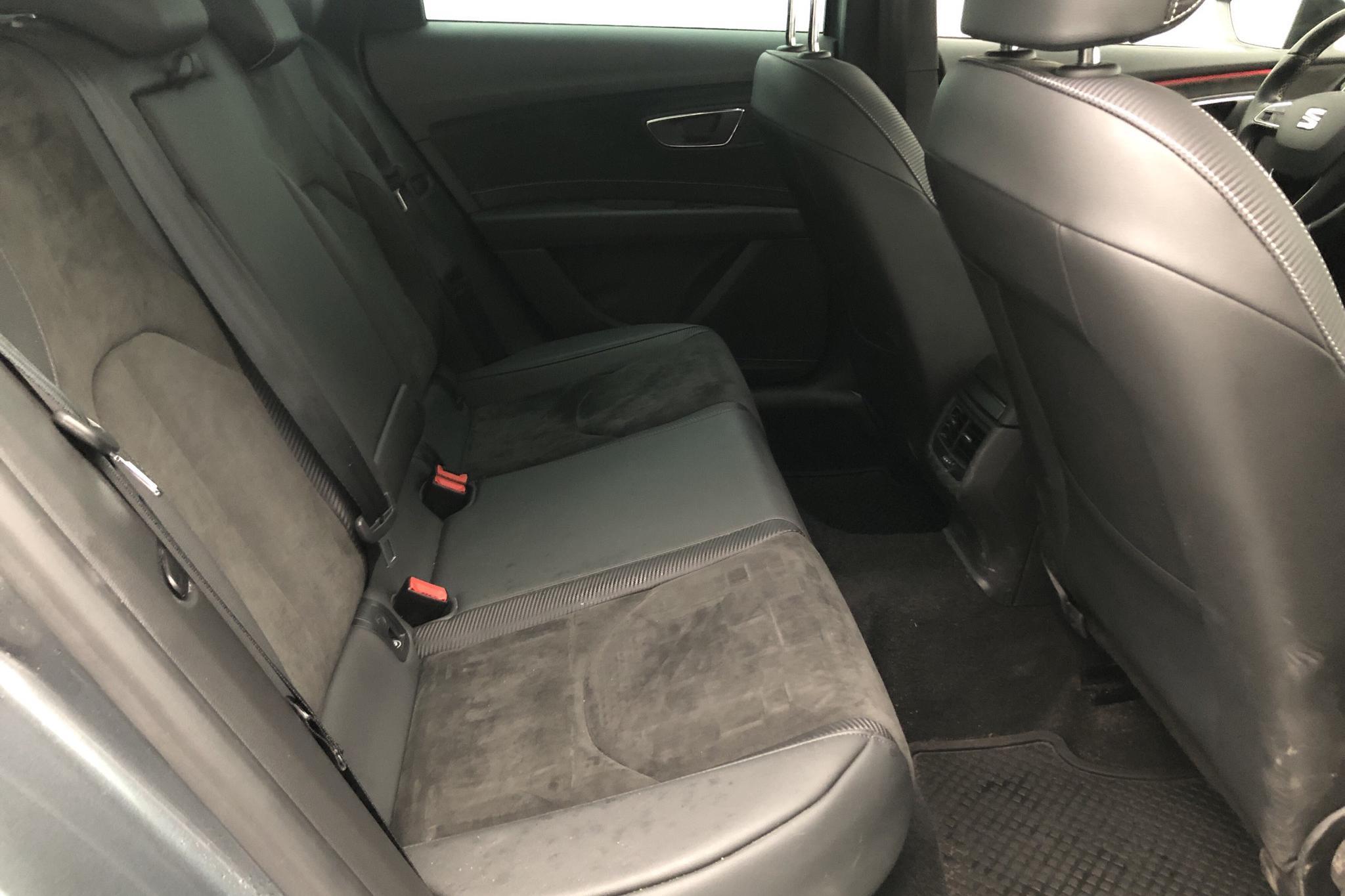 Seat Leon 2.0 TSI Cupra ST 4Drive (300hk) - 5 059 mil - Automat - Light Grey - 2017