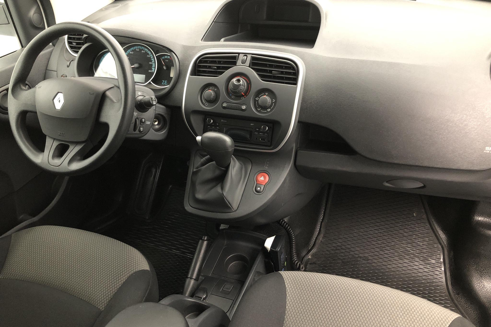 Renault Kangoo Z.E Power Plus 33 kWh Maxi Skåp (60hk) - 1 387 mil - Automat - vit - 2018