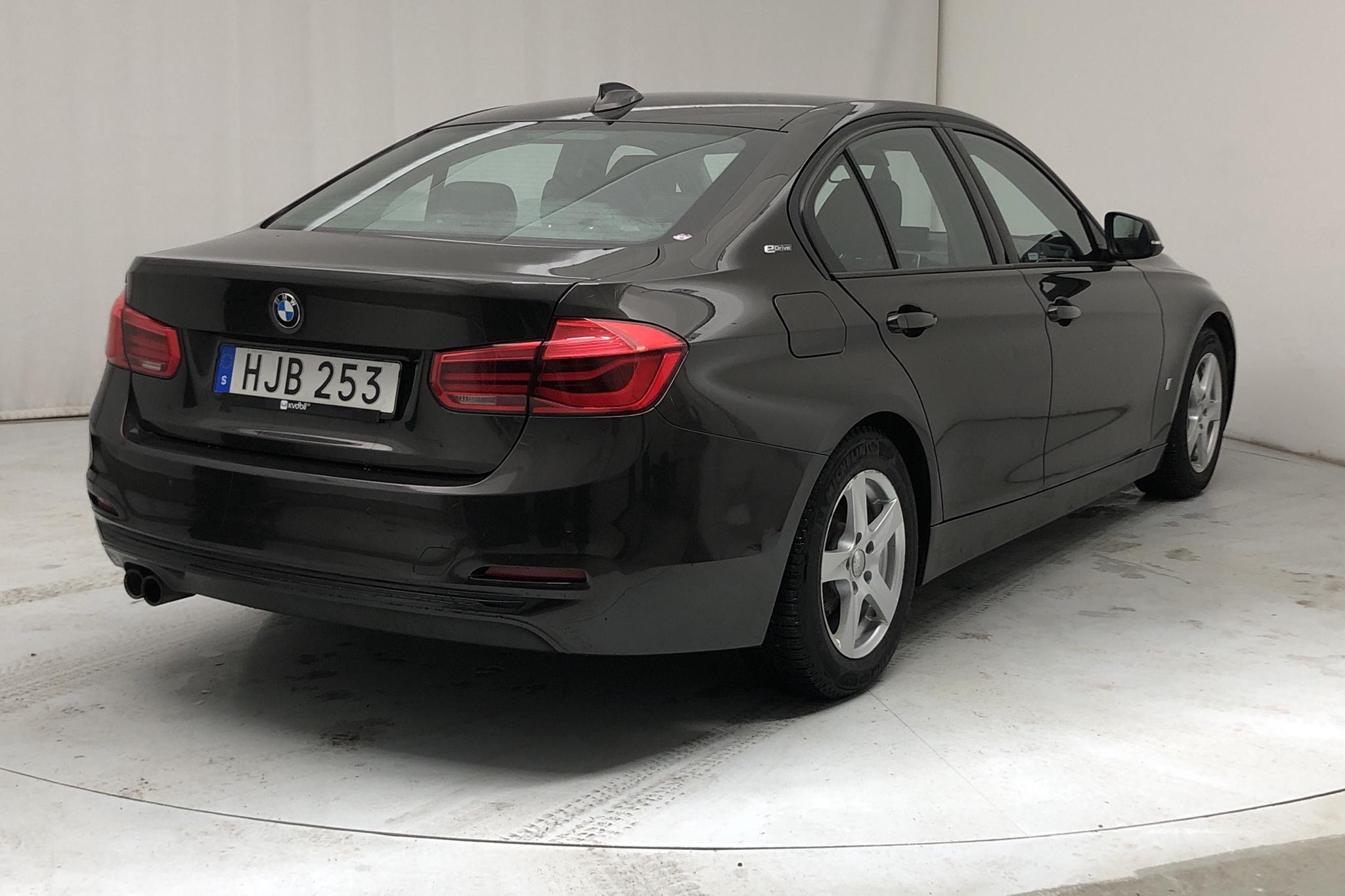 BMW 330e Sedan, F30 (252hk) - 8 054 mil - Automat - brun - 2017