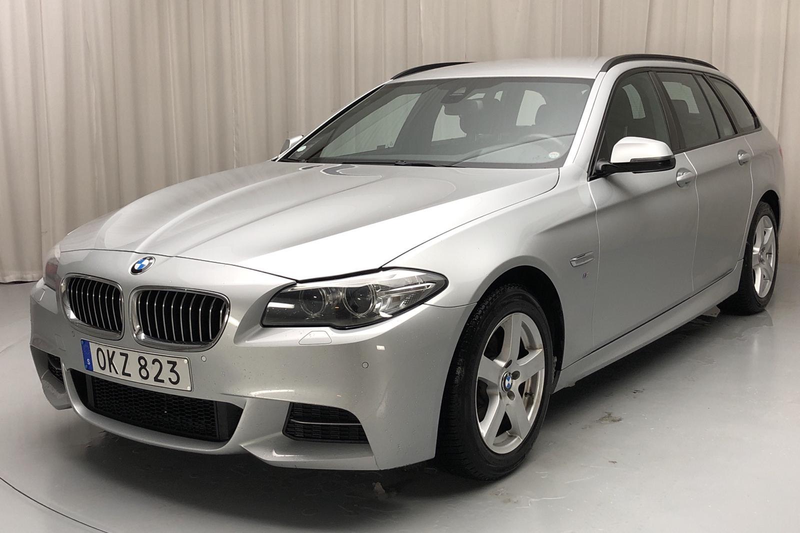BMW 520d xDrive Touring, F11 (190hk) - 102 390 km - Automatic - silver - 2017