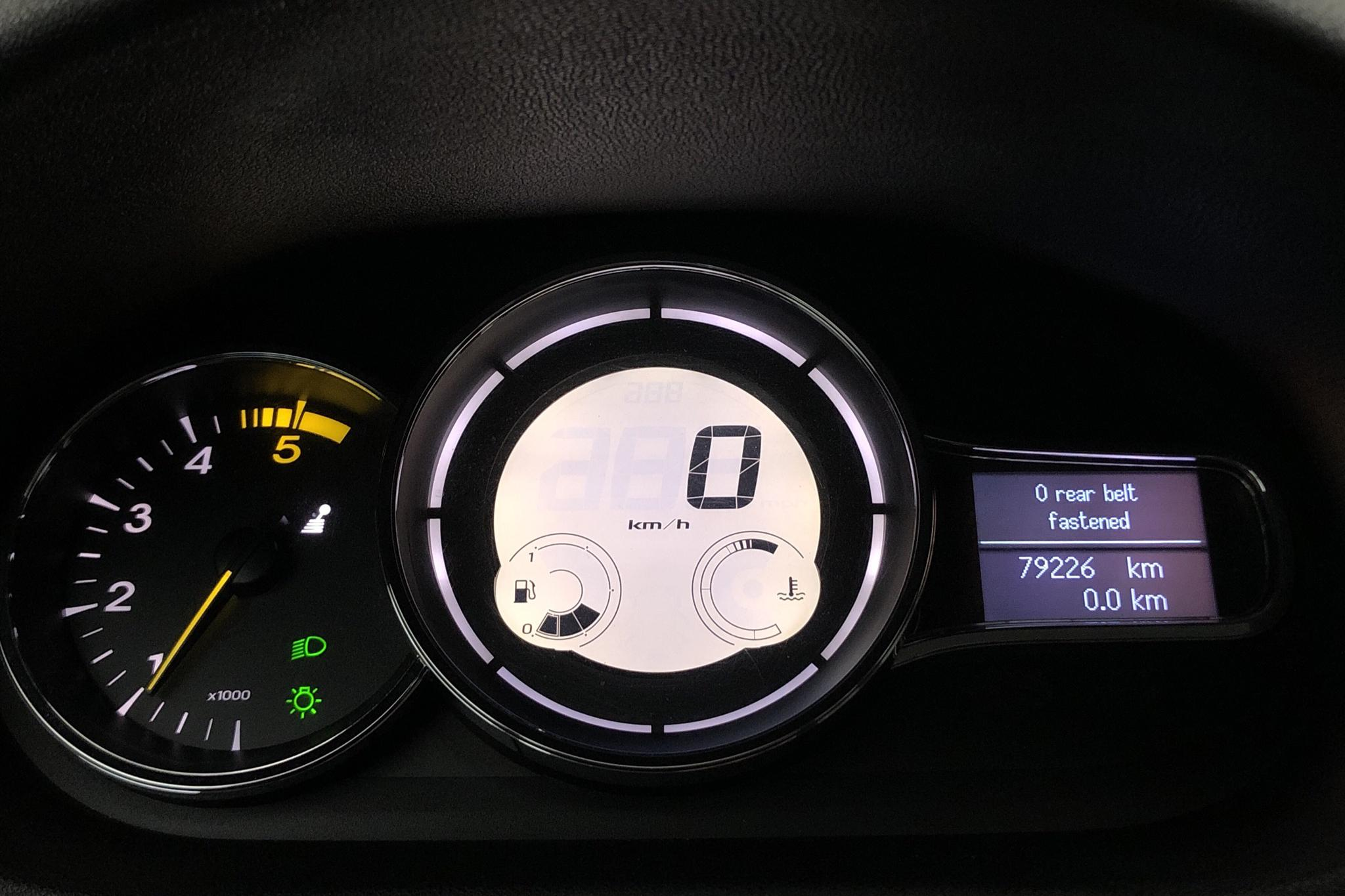 Renault Mégane Phas III 1.9 dCi Sports Tourer  (131hk) - 79 220 km - Manual - gray - 2011