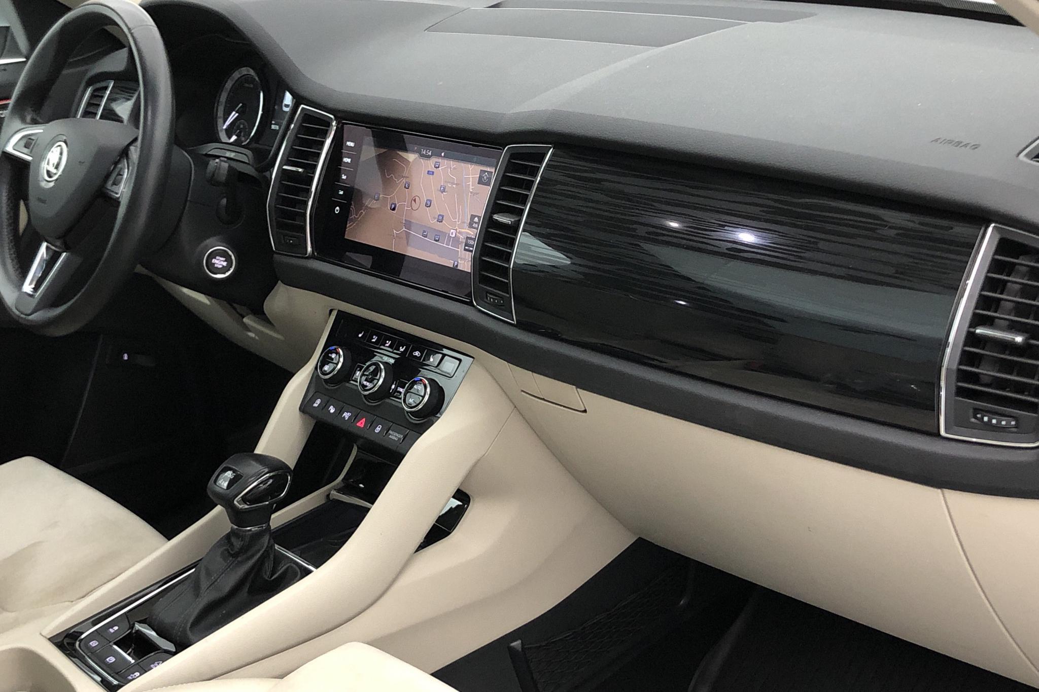 Skoda Kodiaq 2.0 TDI 4X4 (190hk) - 58 370 km - Automatic - silver - 2018